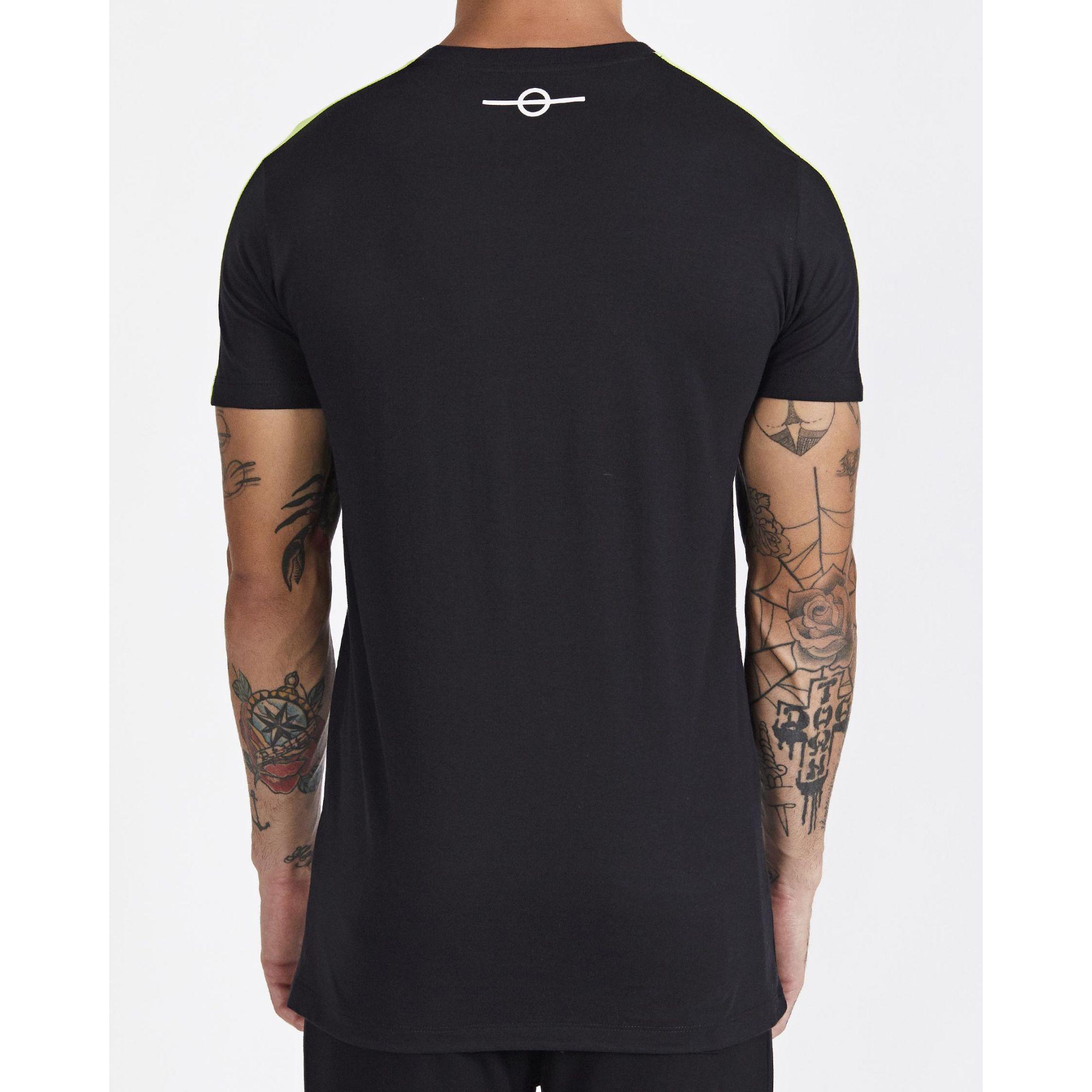 Camiseta Buh Recorte Ombro Black