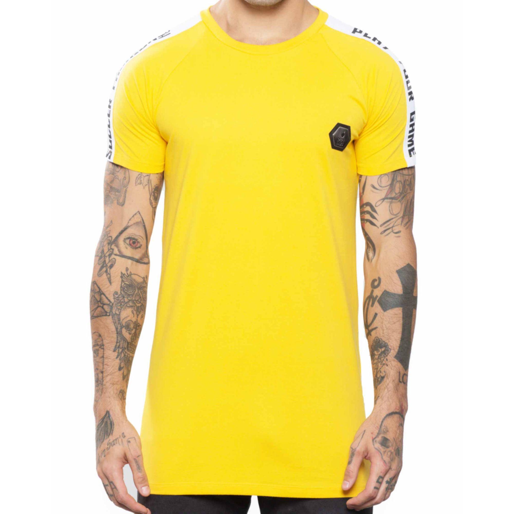 Camiseta Buh Recorte Placa Yellow