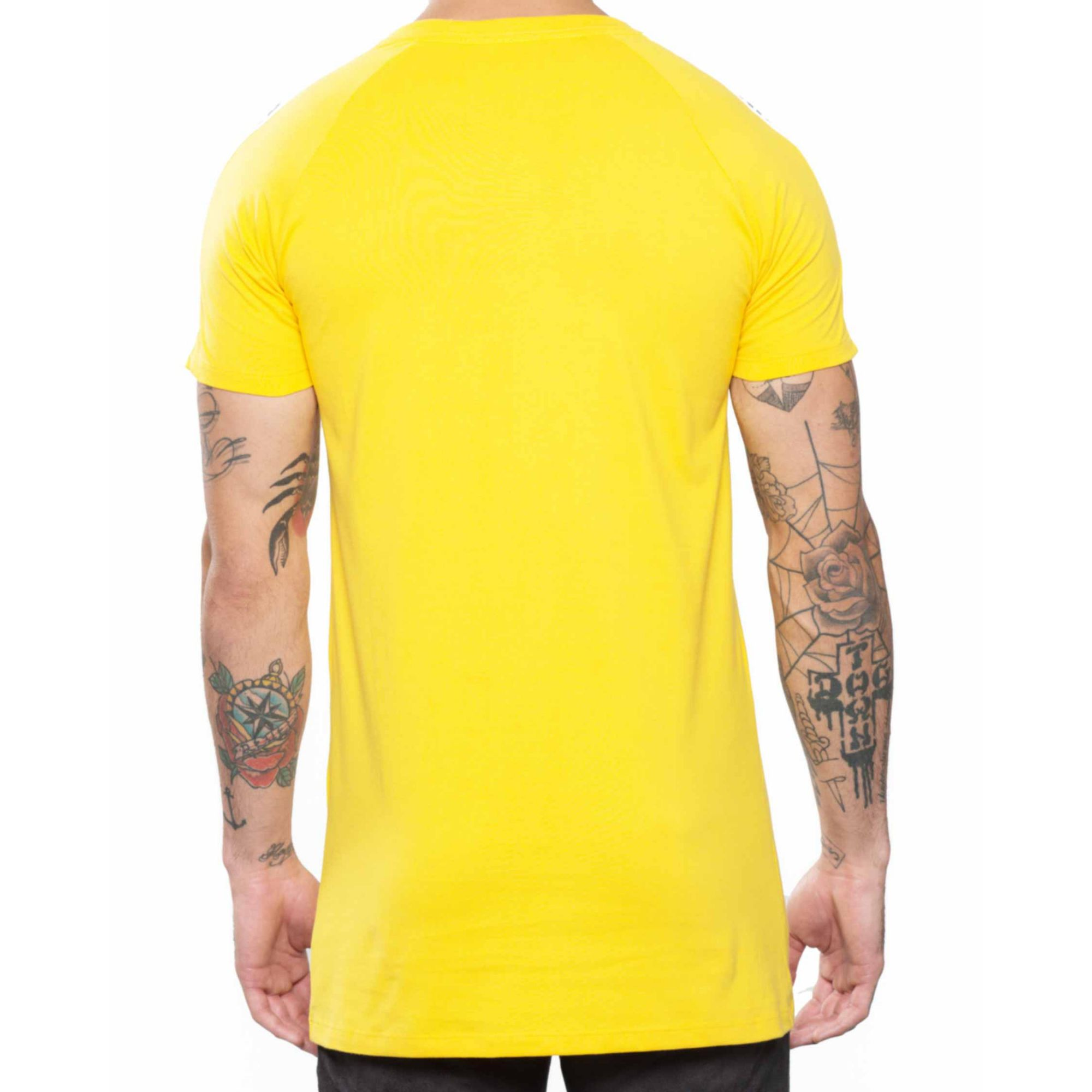 Camiseta Buh Recorte Placa Yellow