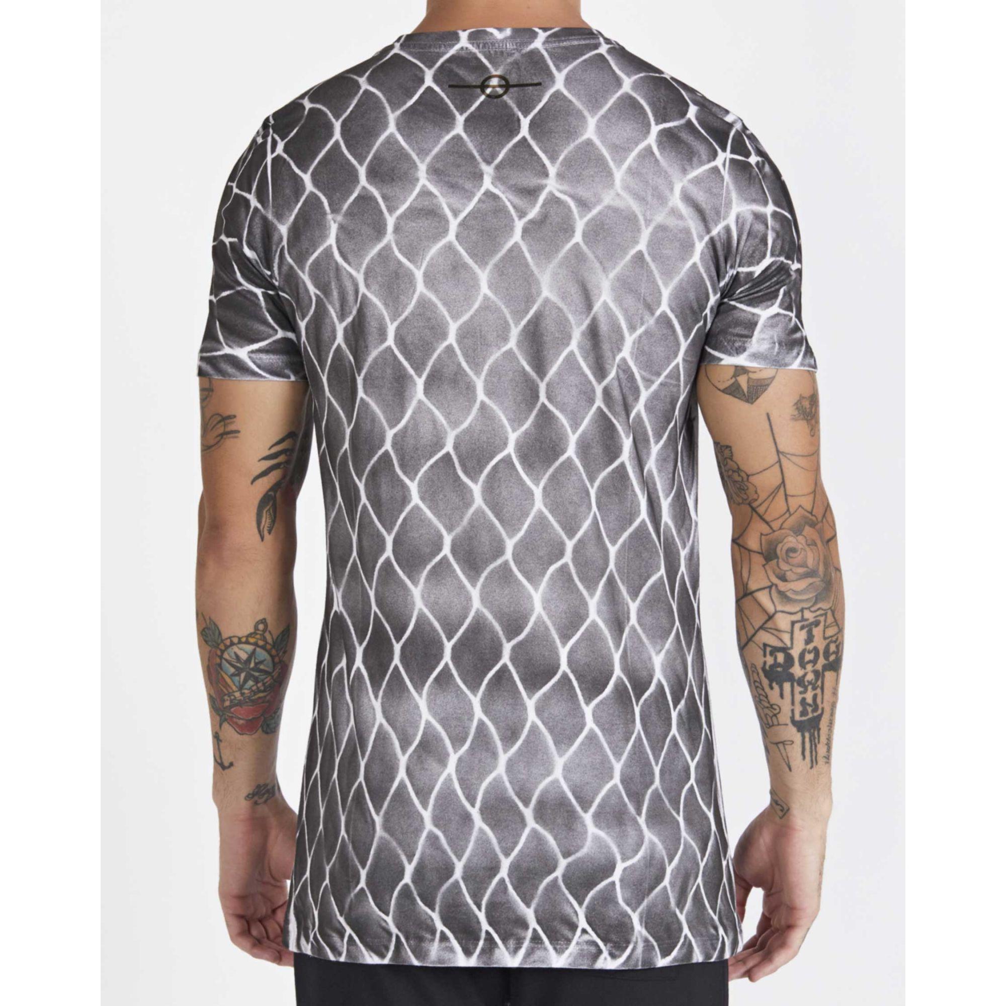 Camiseta Buh Rede Grey
