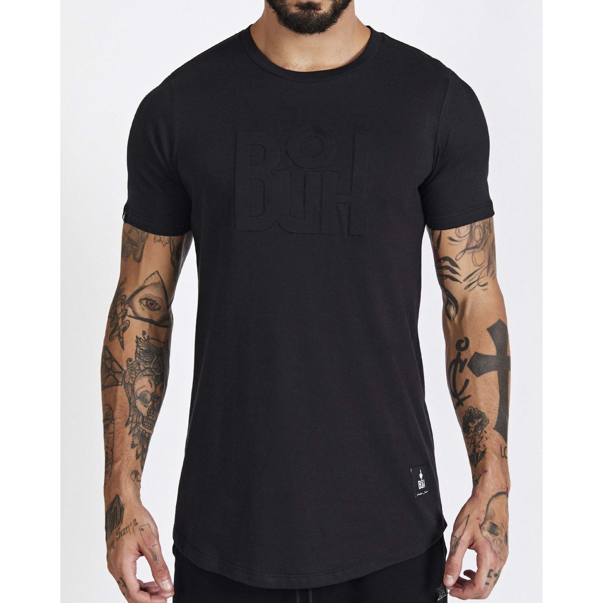 Camiseta Buh Relevo Black
