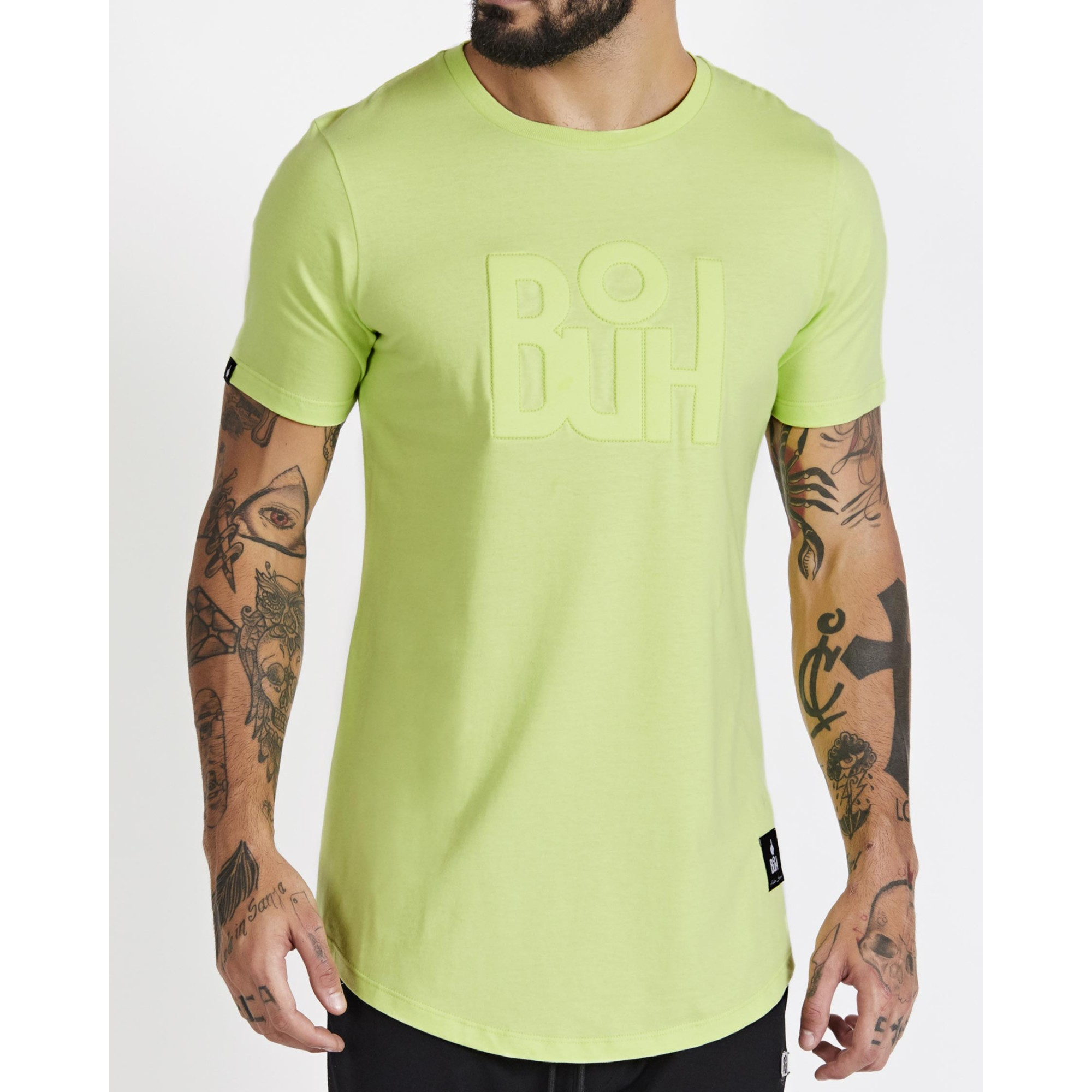 Camiseta Buh Relevo Green