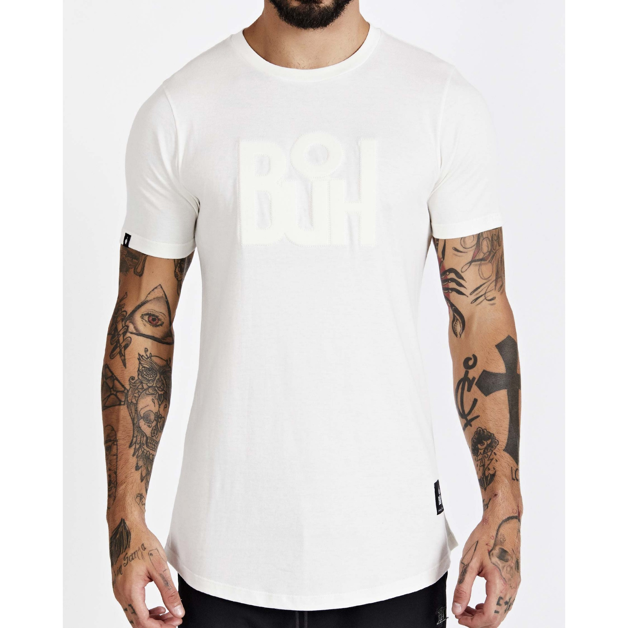 Camiseta Buh Relevo White