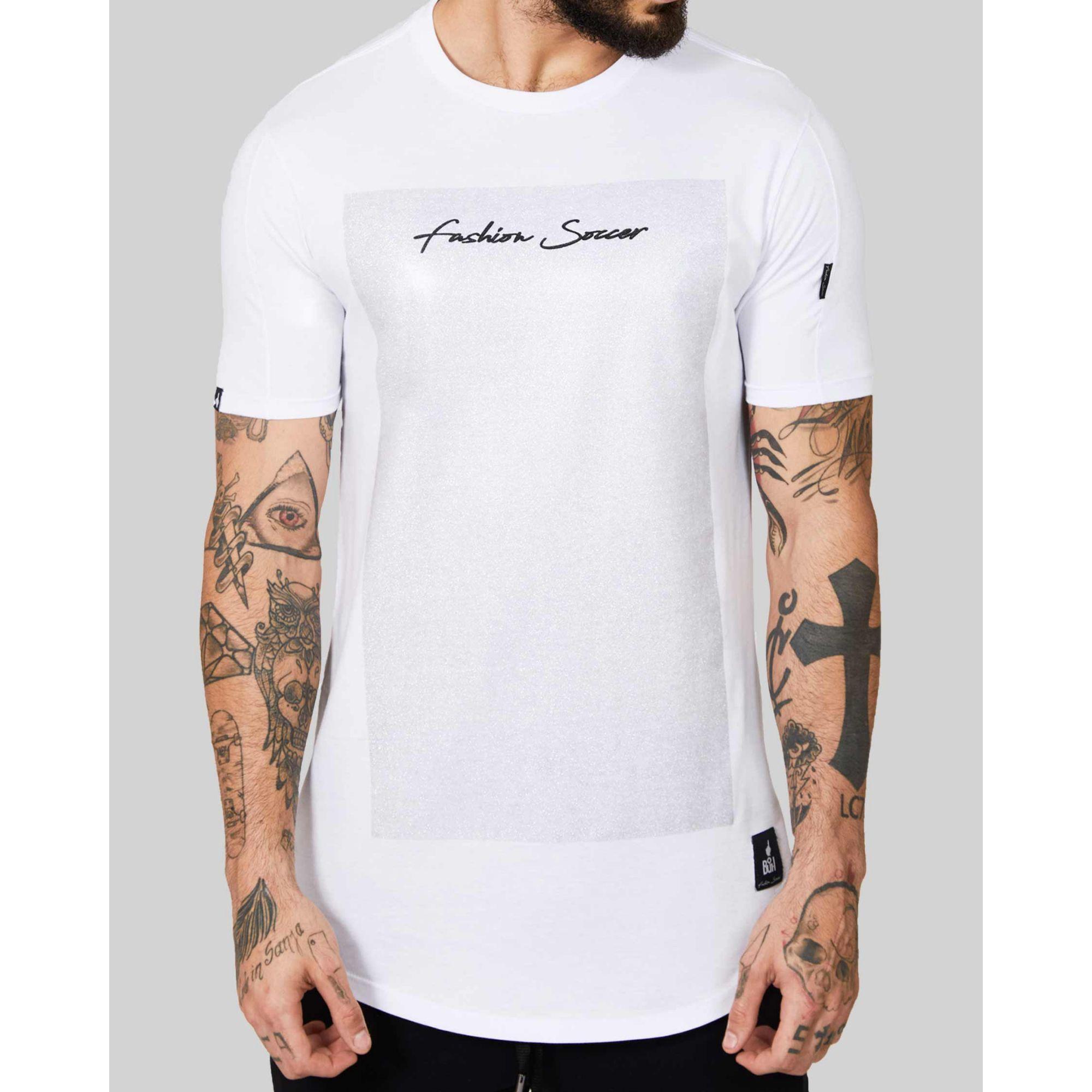 Camiseta Buh Retângulo White