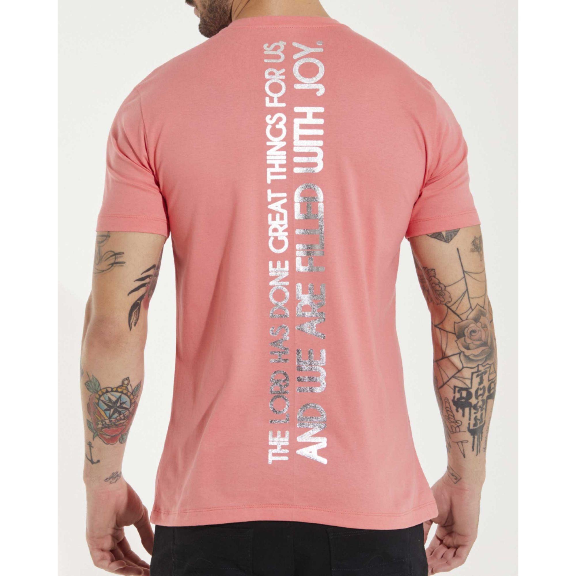 Camiseta Buh Salmo Foil Rose