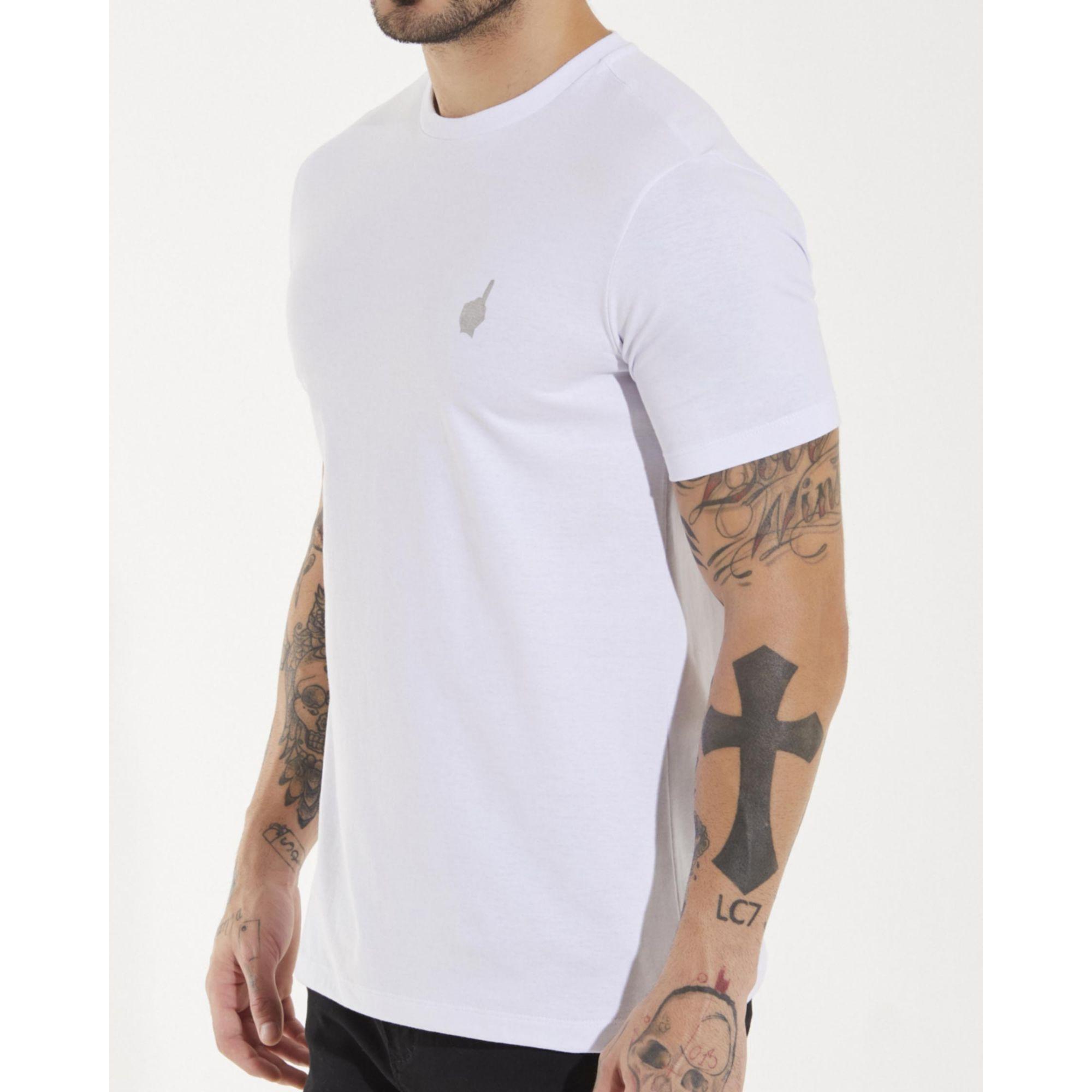 Camiseta Buh Salmo Foil White