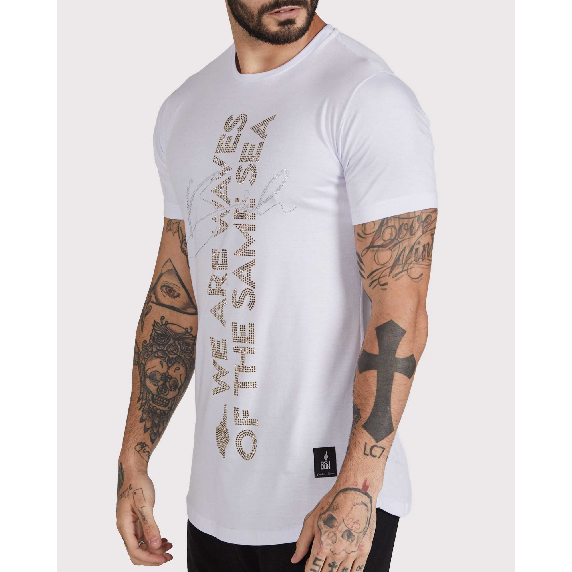 Camiseta Buh Same Shine White