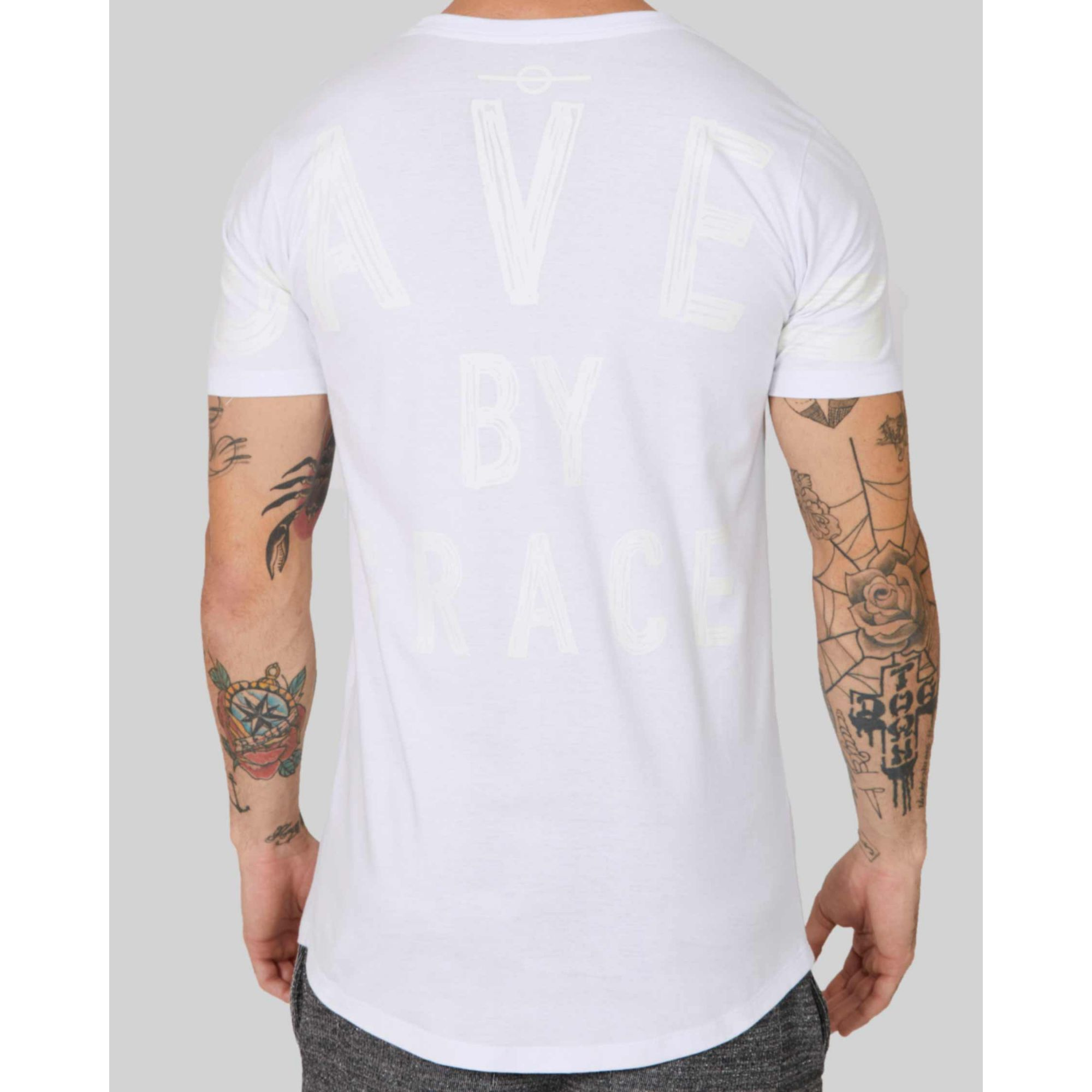 Camiseta Buh Saved By Grace White