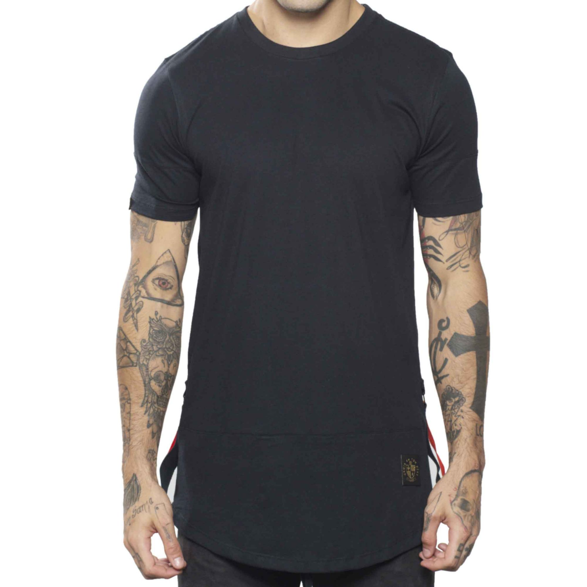 Camiseta Buh ShoeLace Barra Black