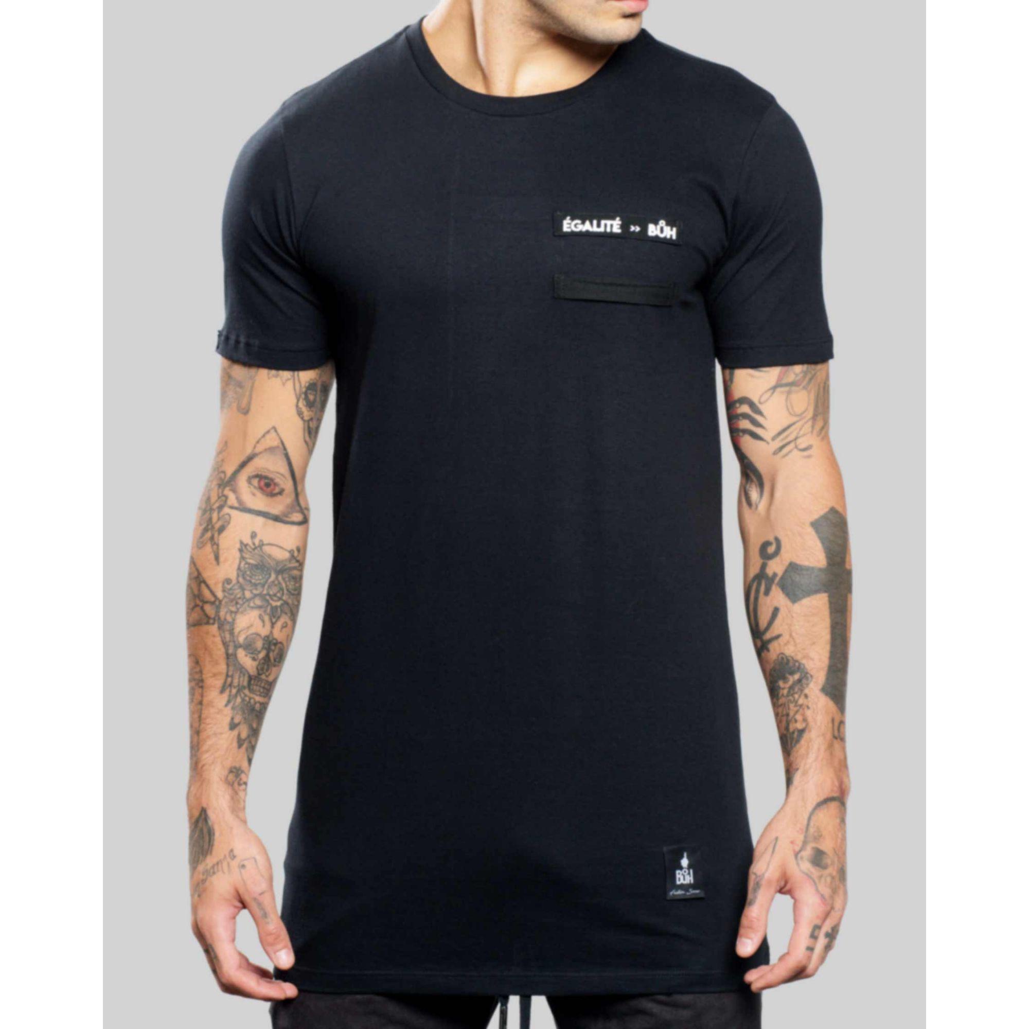 Camiseta Buh ShoeLace Egalité Black