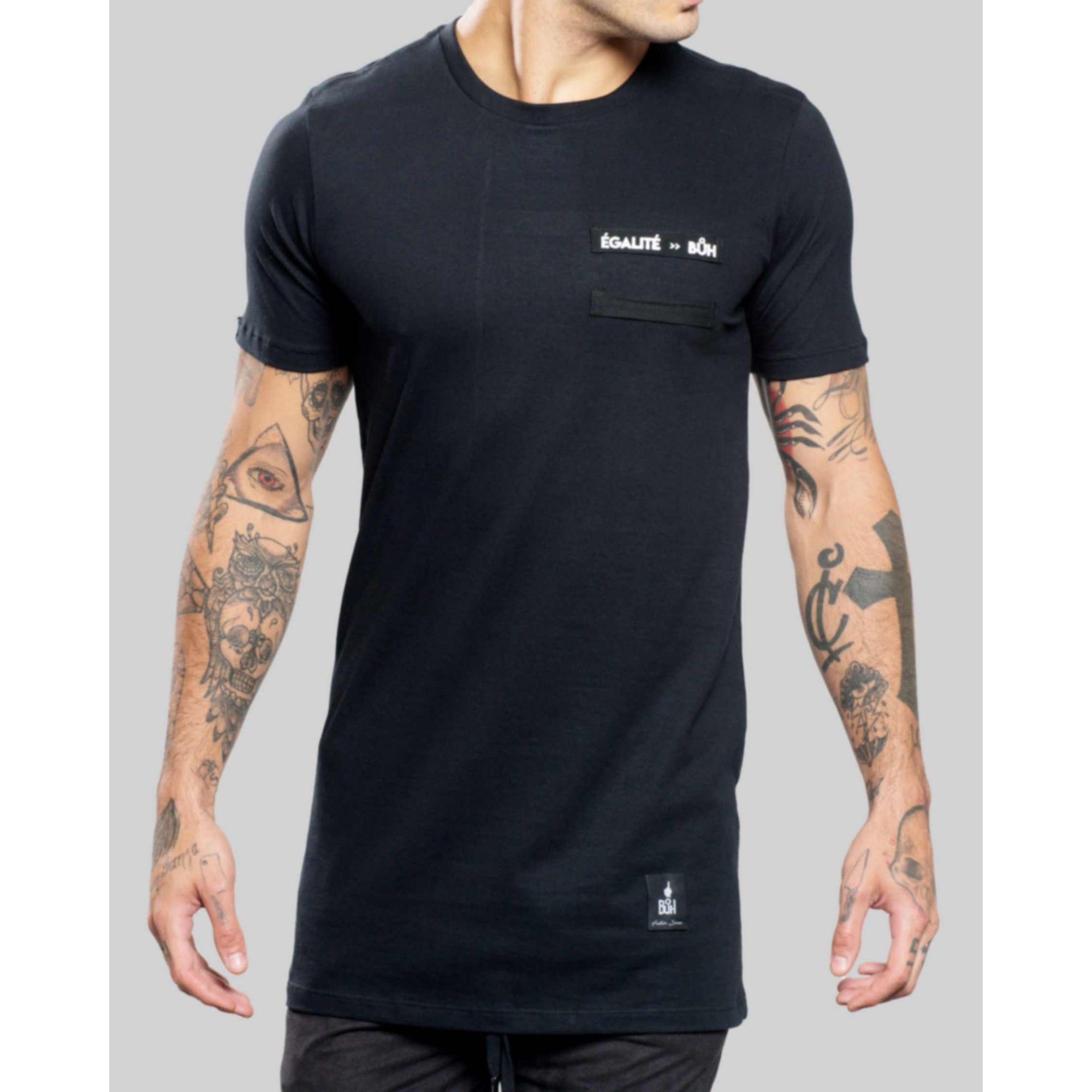 Camiseta Buh ShoeLace Egalité Black