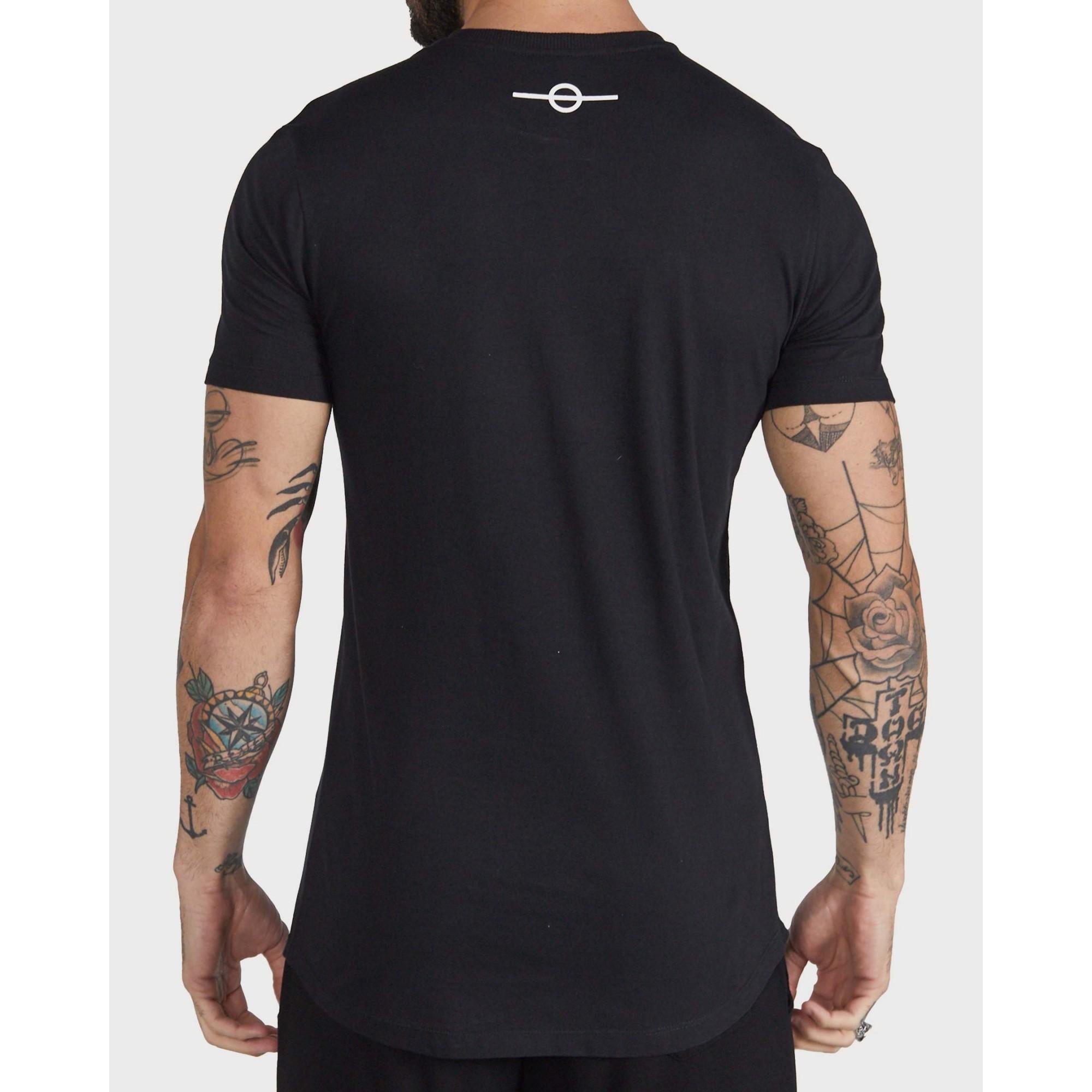 Camiseta Buh Silver Black & Pink