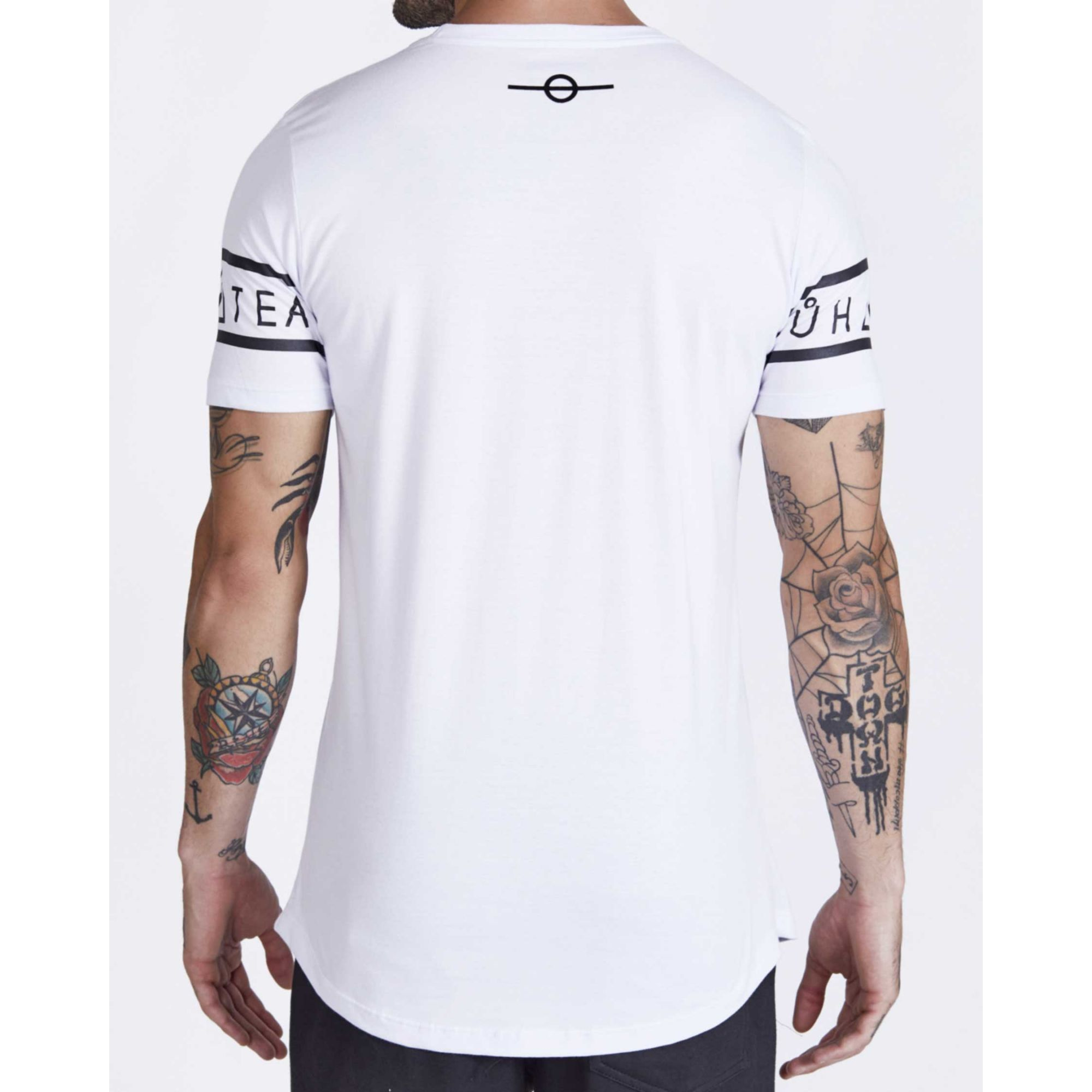 Camiseta Buh Sleeve White