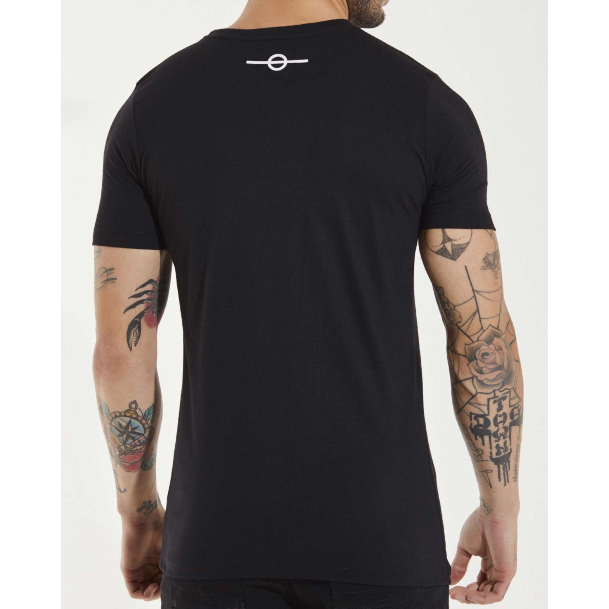 Camiseta Buh Smoke Black