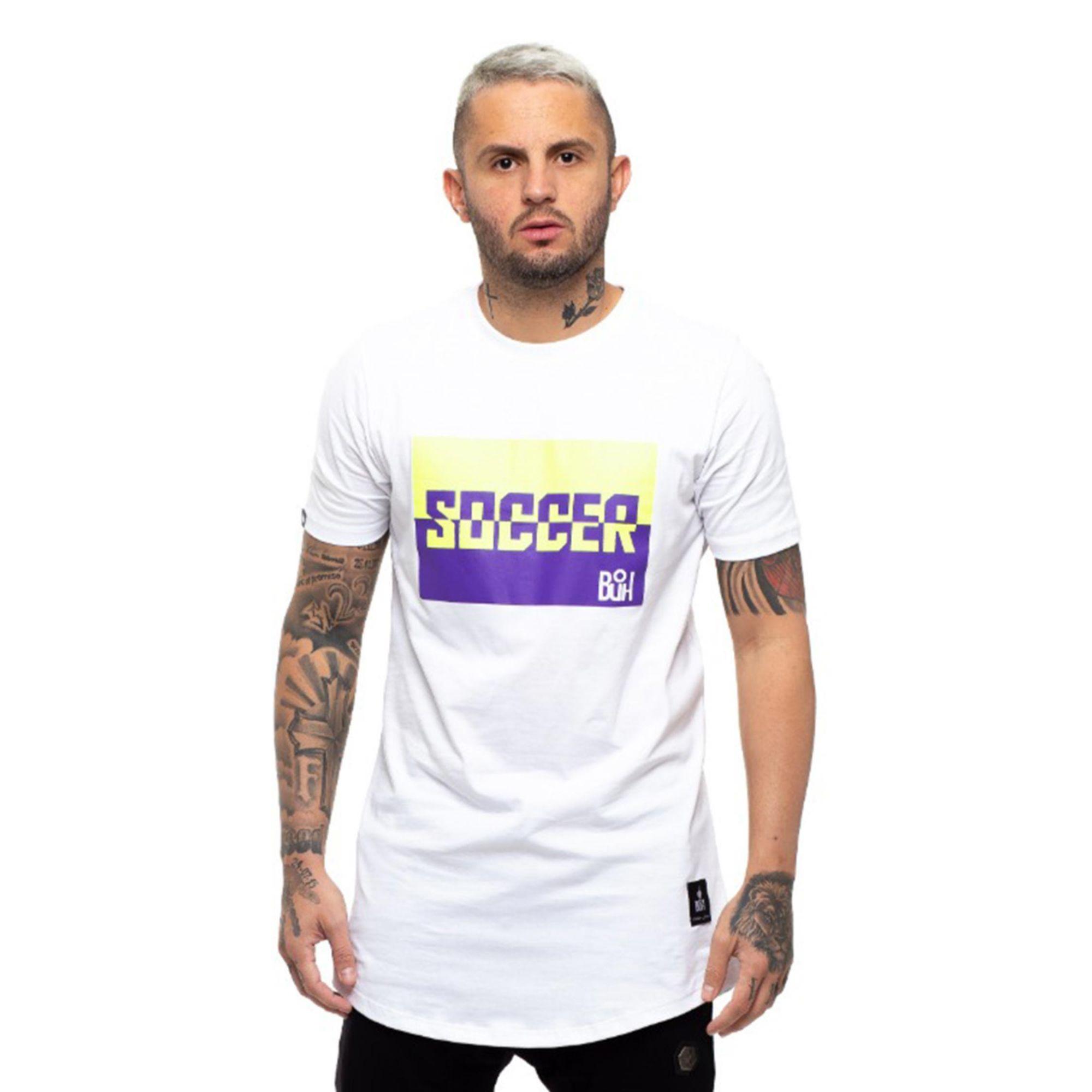Camiseta Buh Soccer Color White