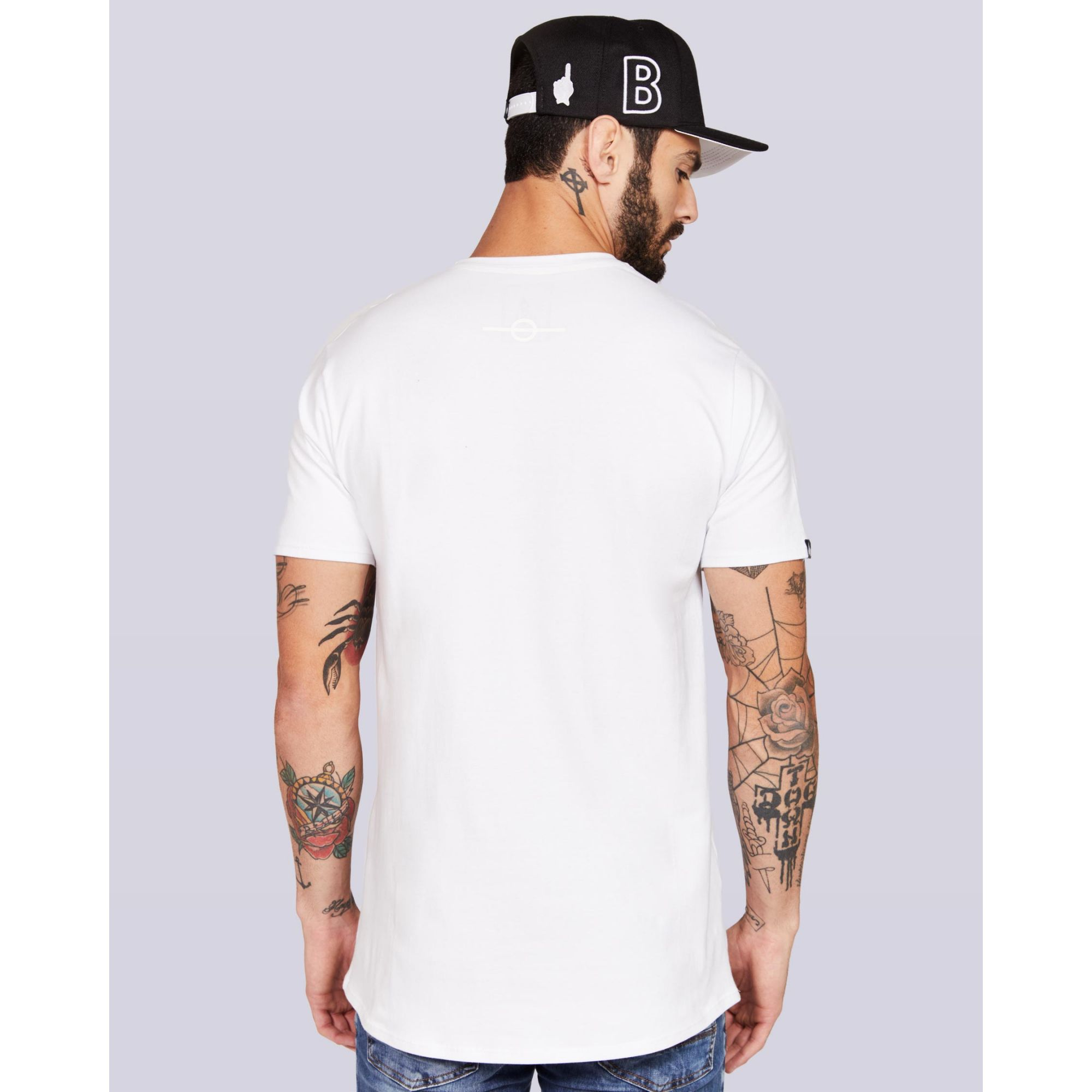 Camiseta Buh Spheres White