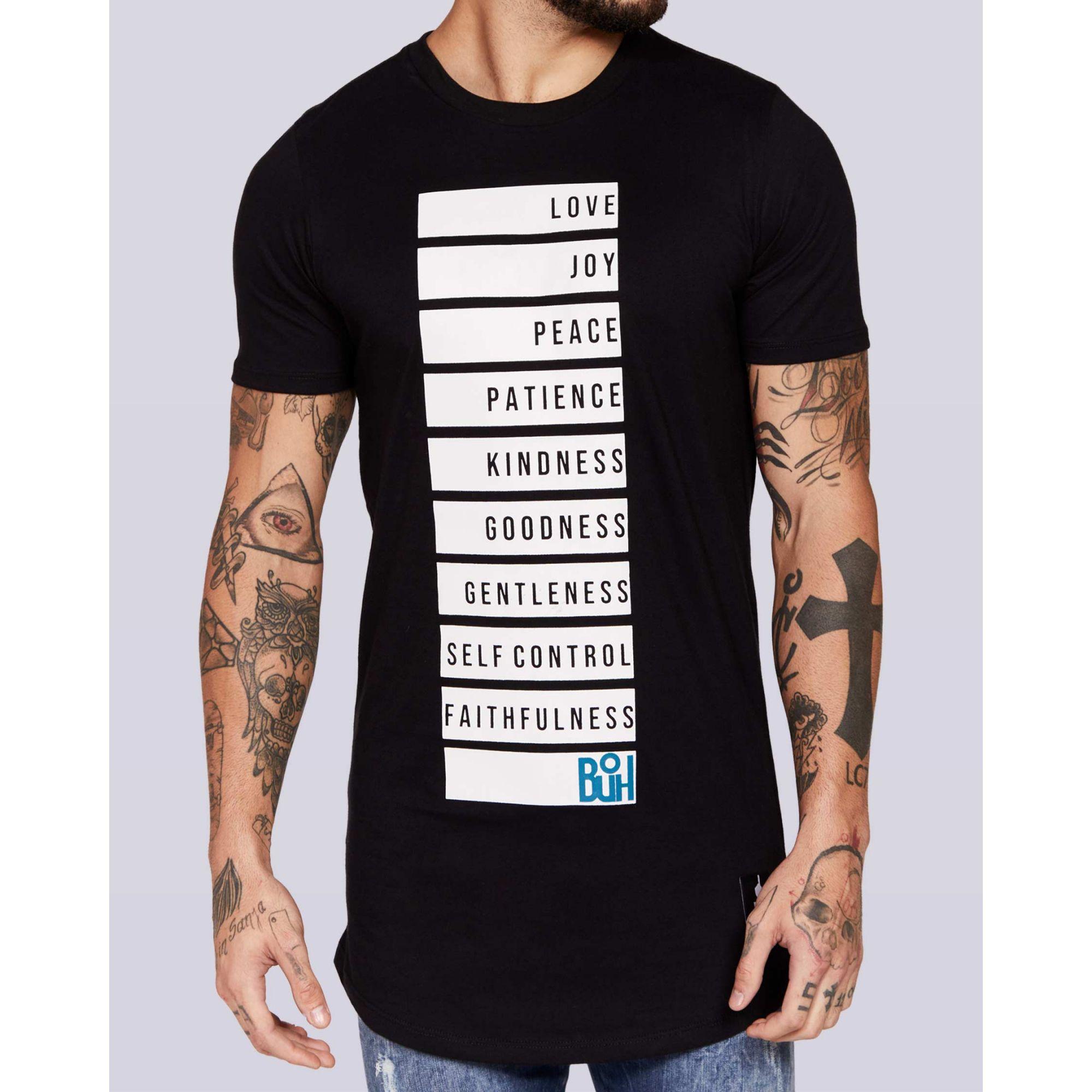 Camiseta Buh Spirit Black