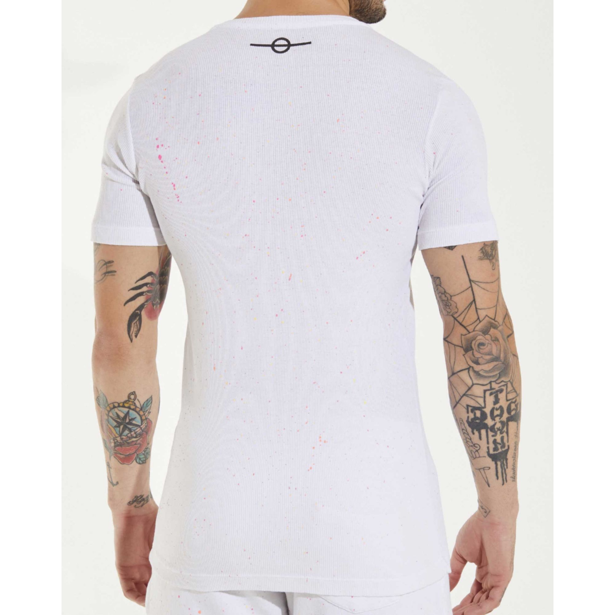 Camiseta Buh Splash Neon White