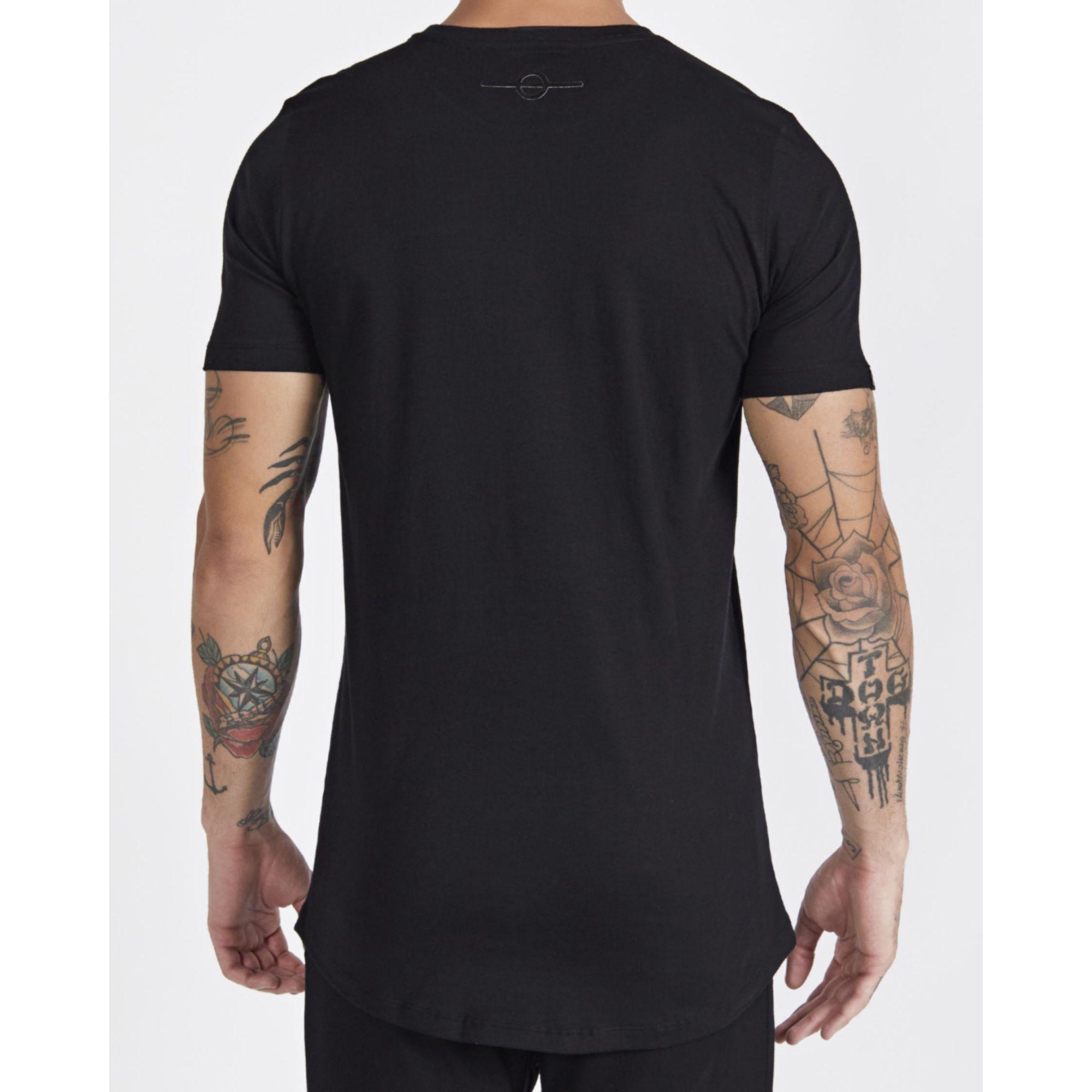 Camiseta Buh Square Believe All Black