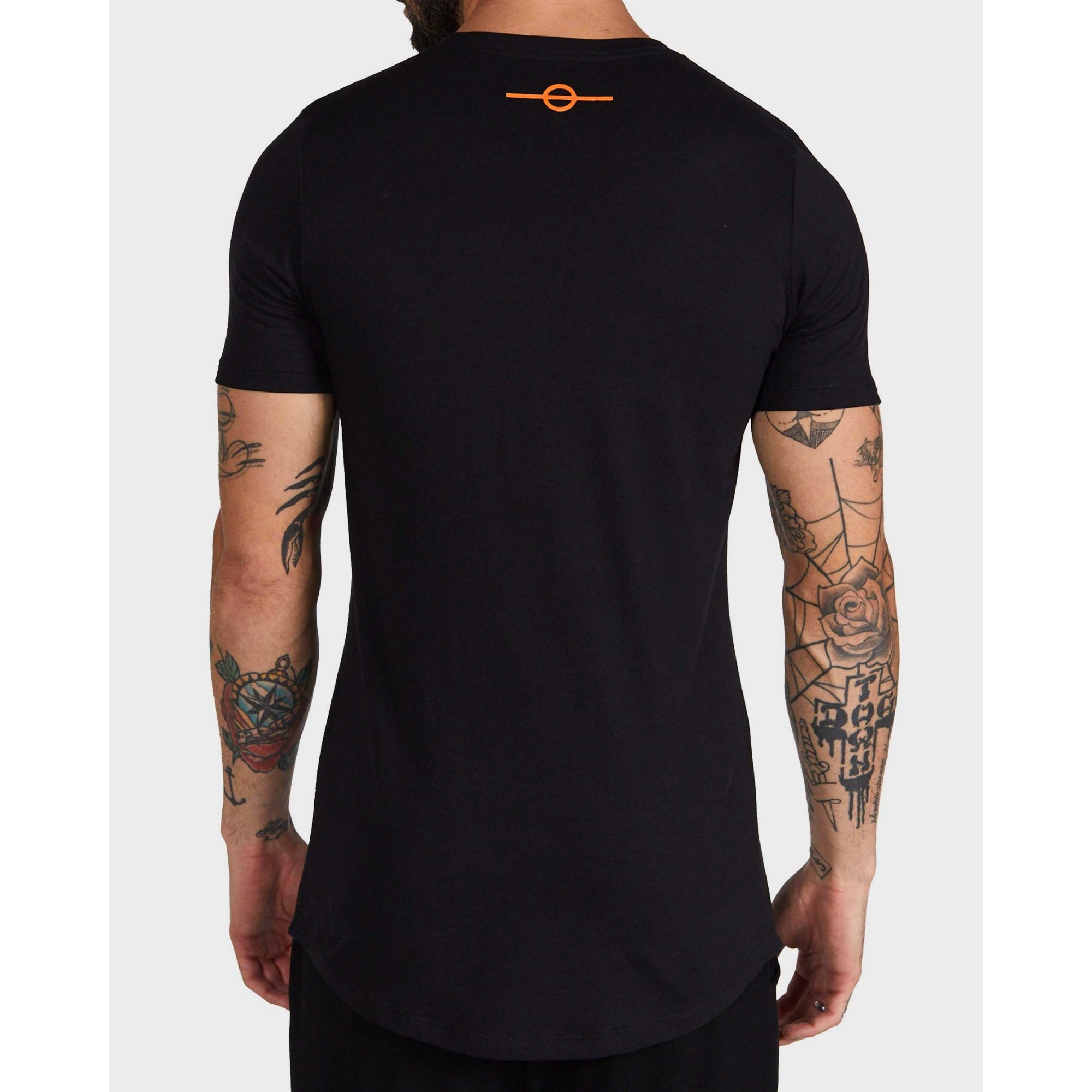 Camiseta Buh Strass Fire Black