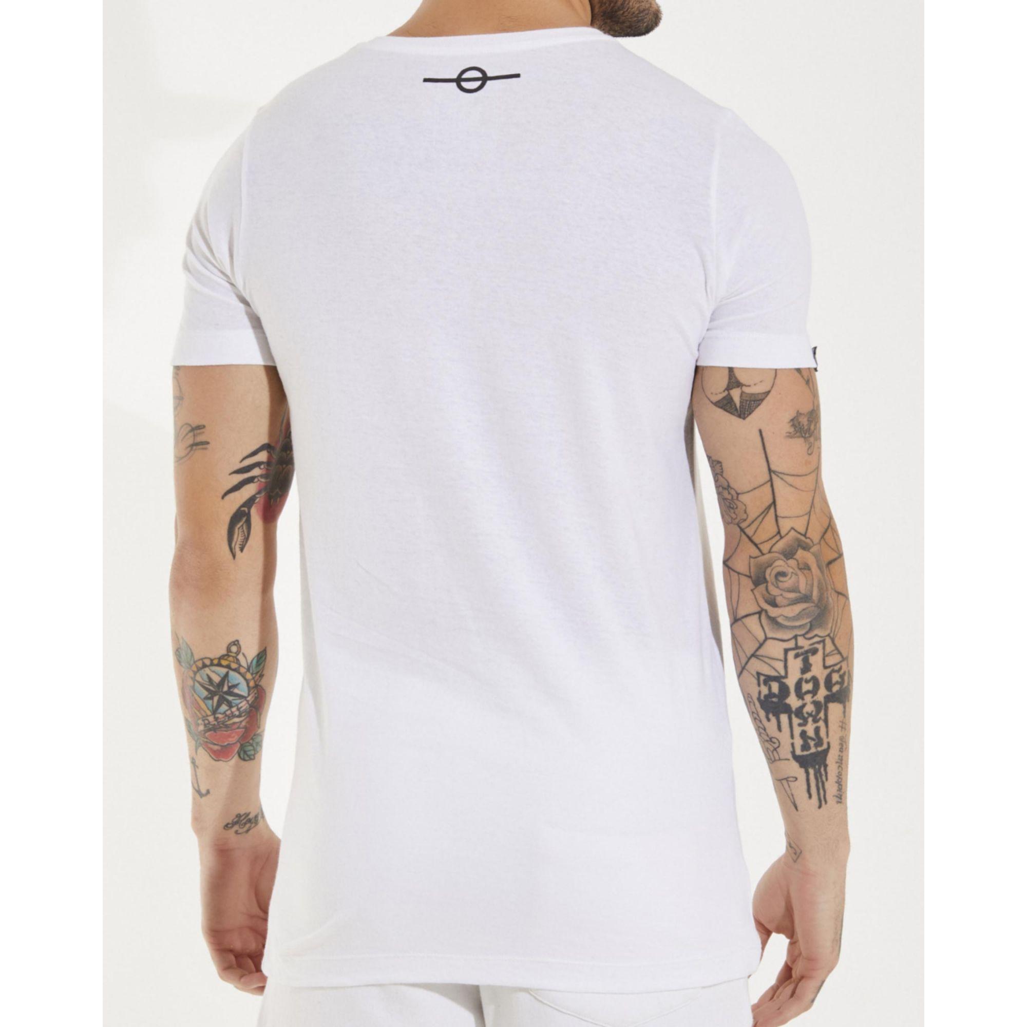Camiseta Buh Strass Logo White