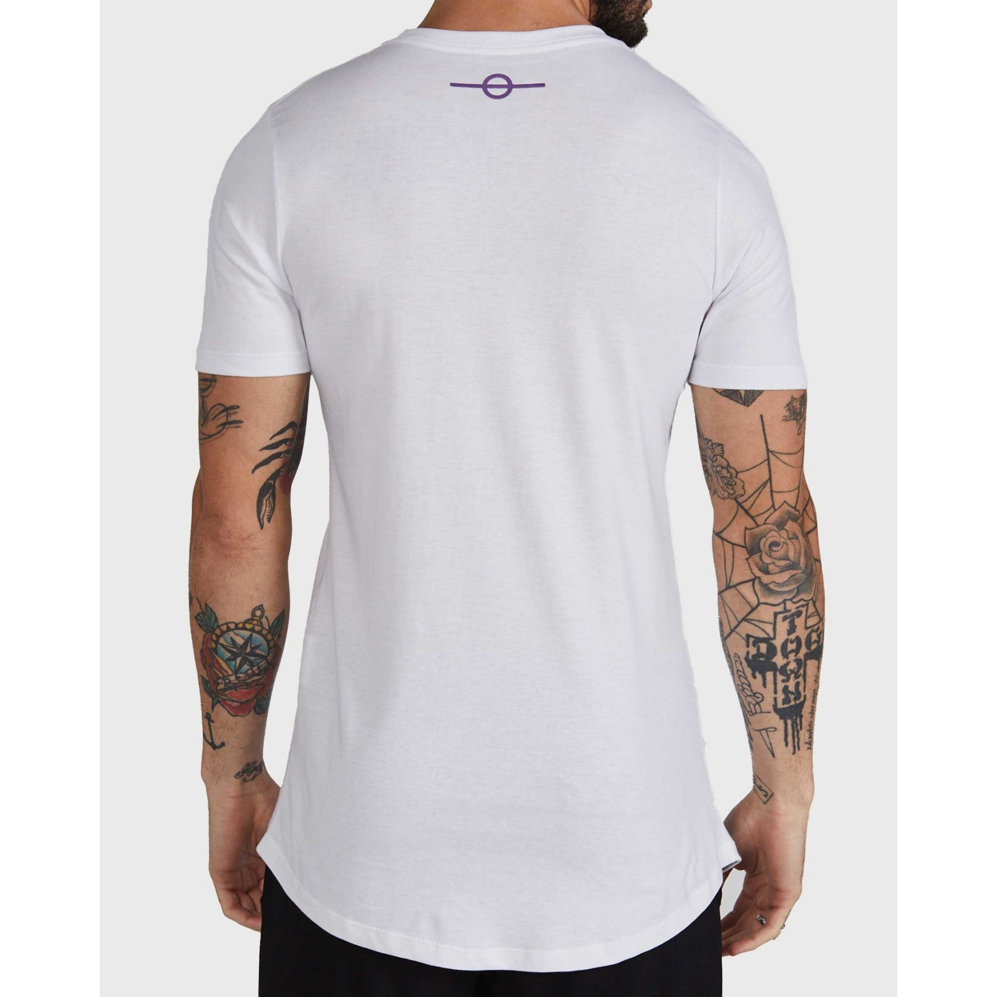 Camiseta Buh Strass White