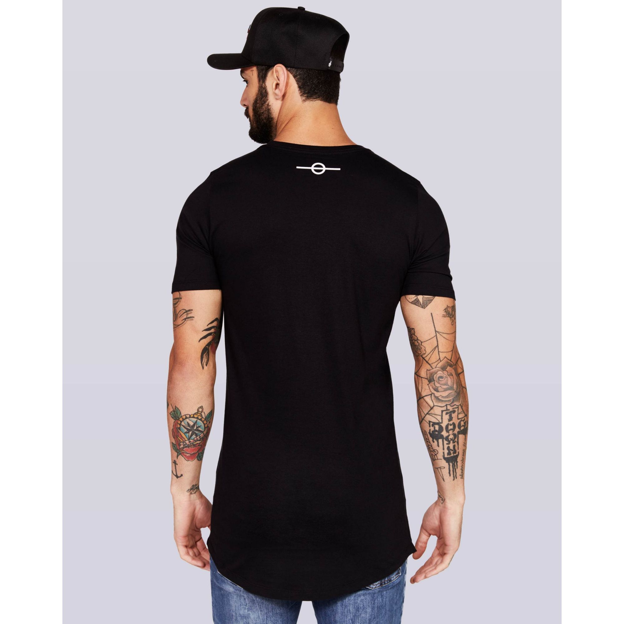 Camiseta Buh Stripes Black