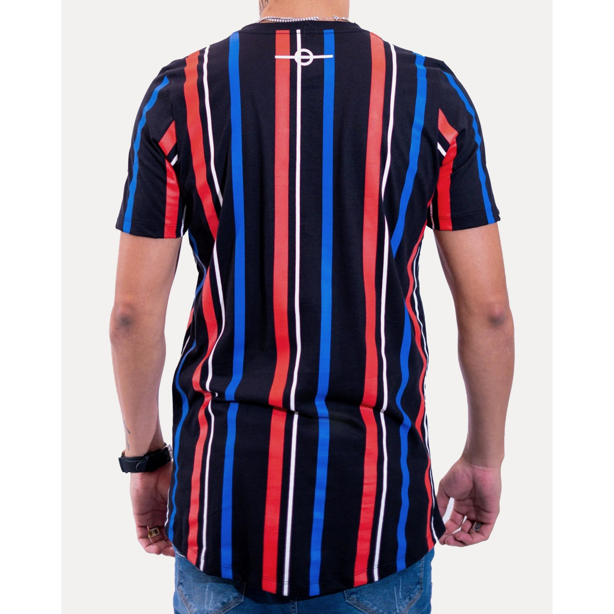 Camiseta Buh Stripes HQ Black