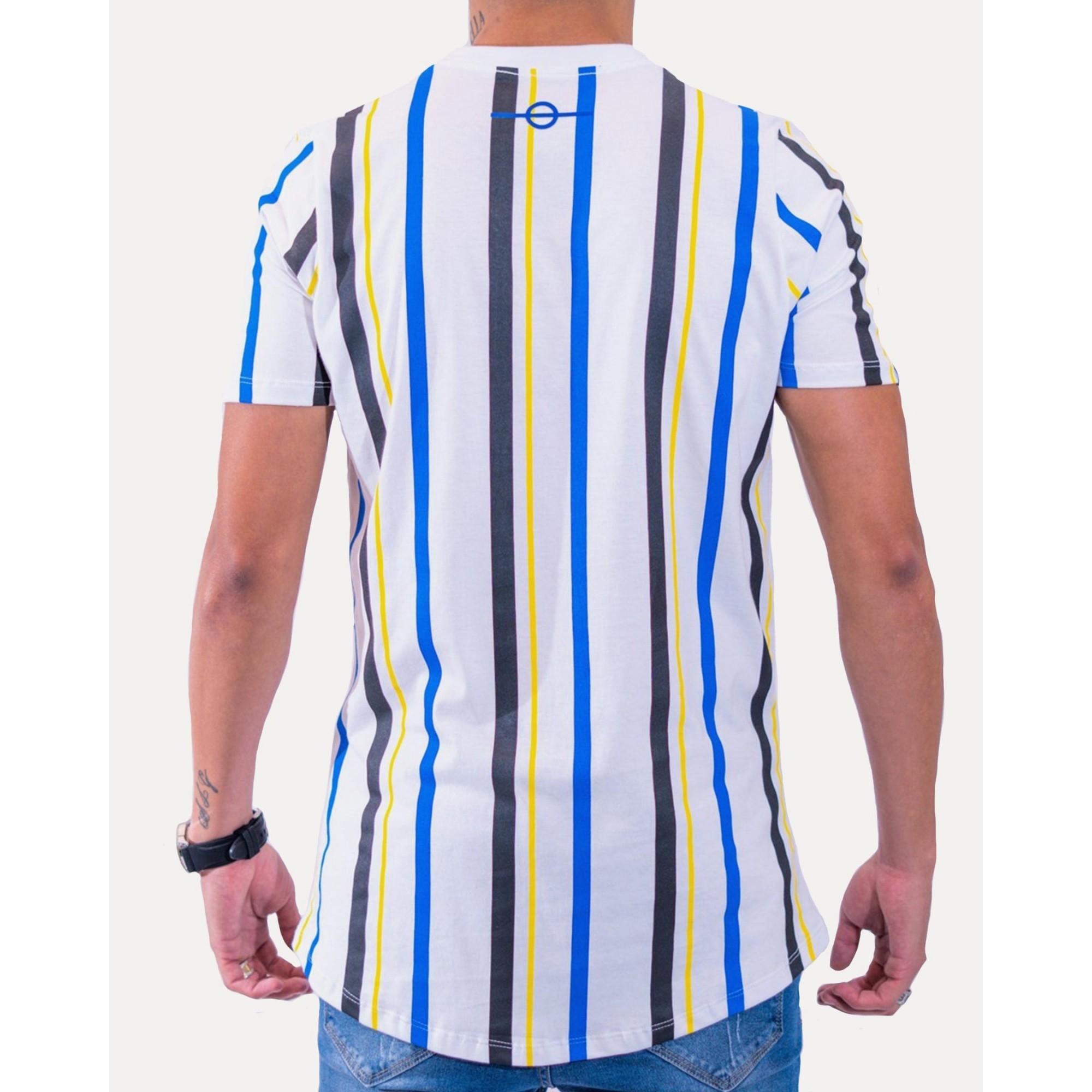 Camiseta Buh Stripes HQ White