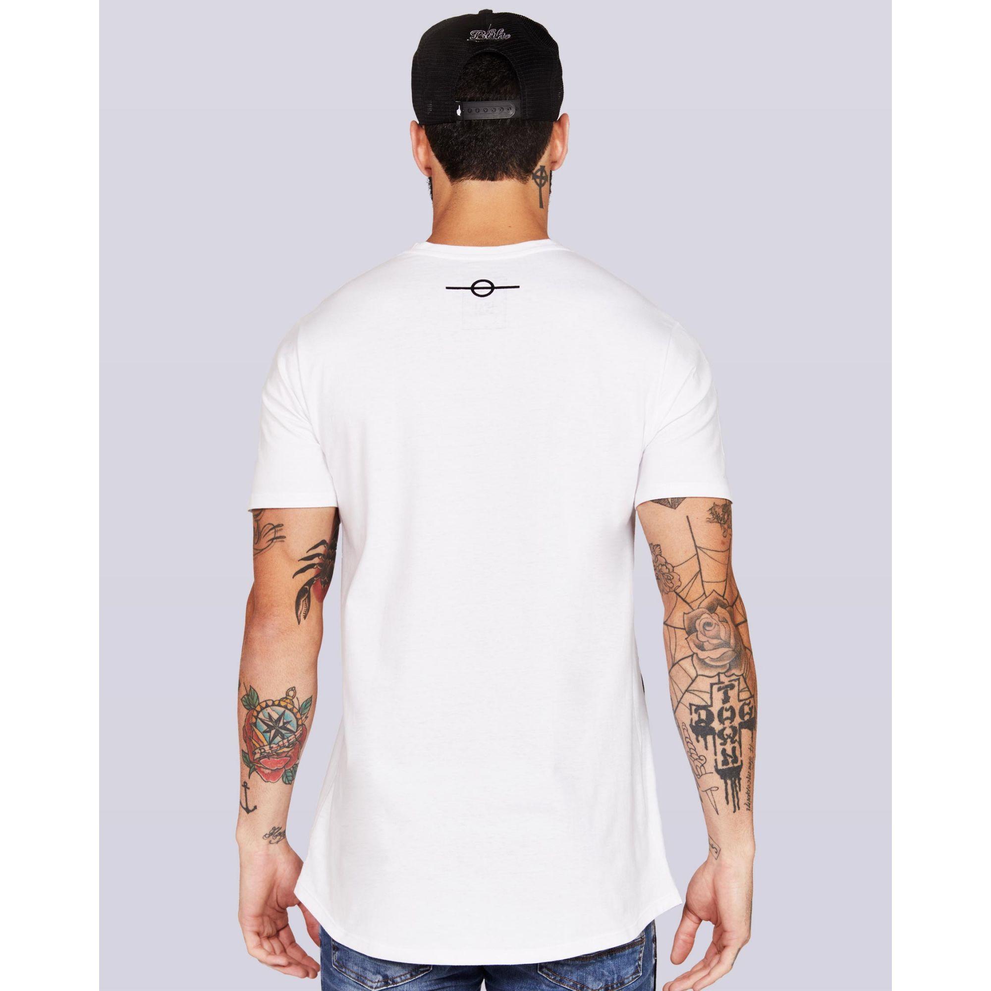 Camiseta Buh Stripes White