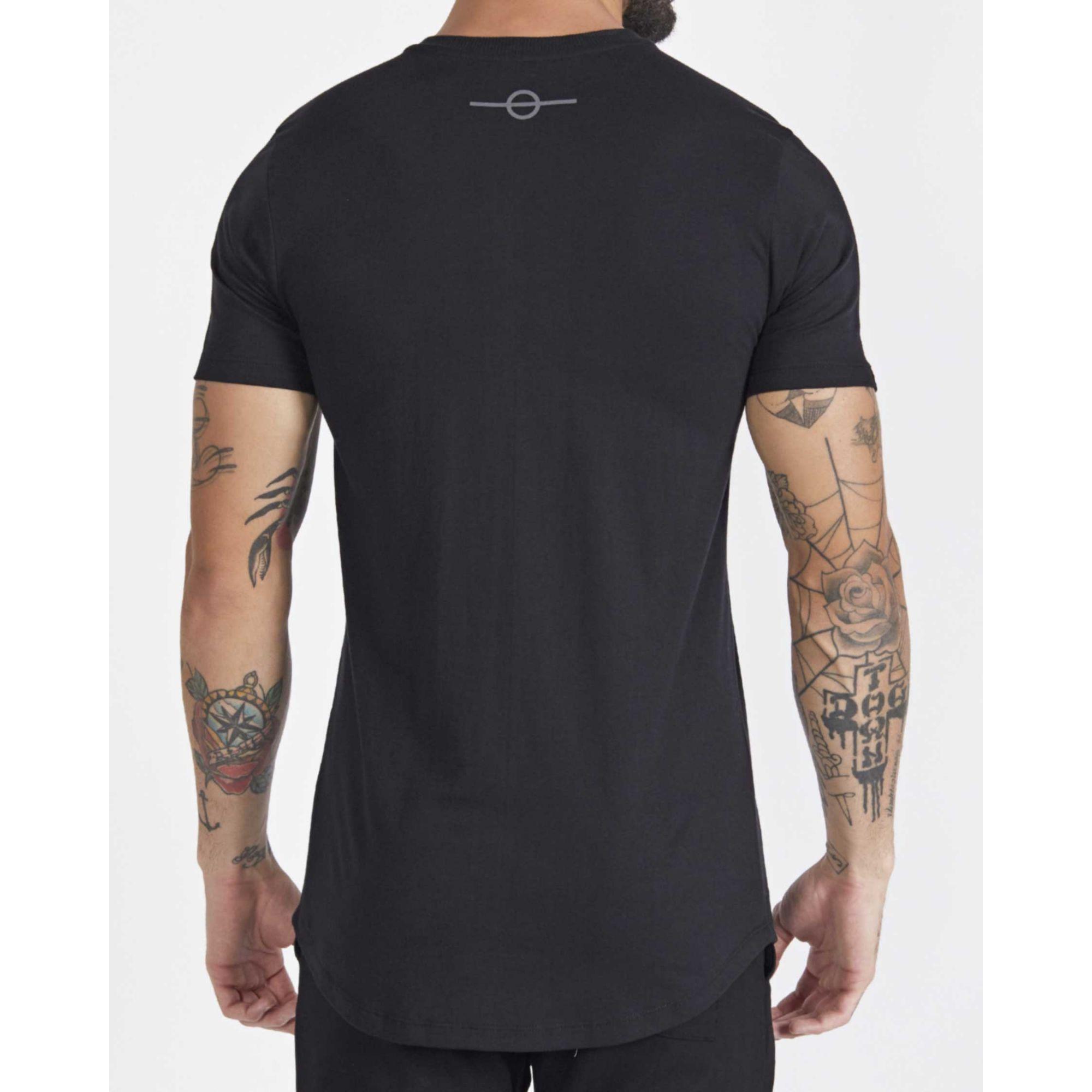 Camiseta Buh Striples Black