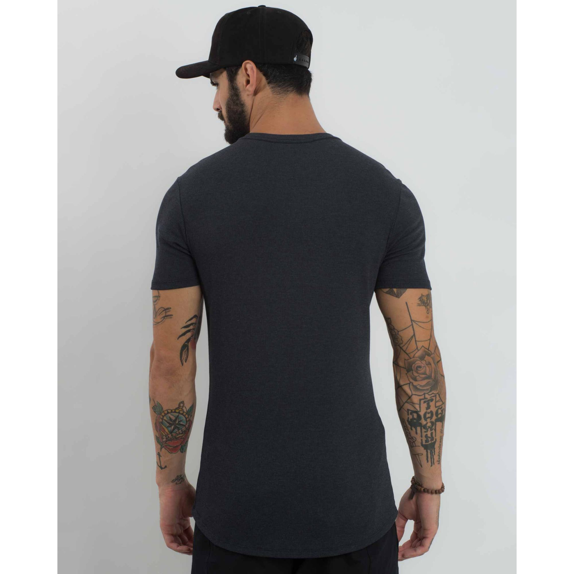 Camiseta Buh Super Fit Deep Grey