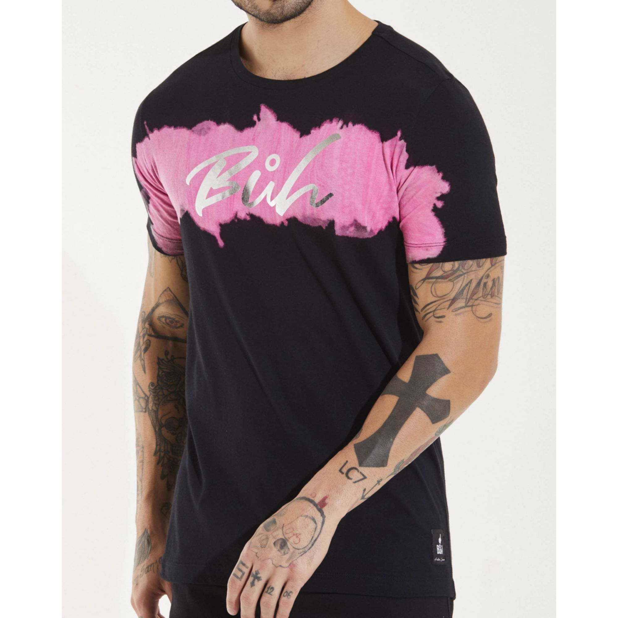 Camiseta Buh Terra Black & Rose