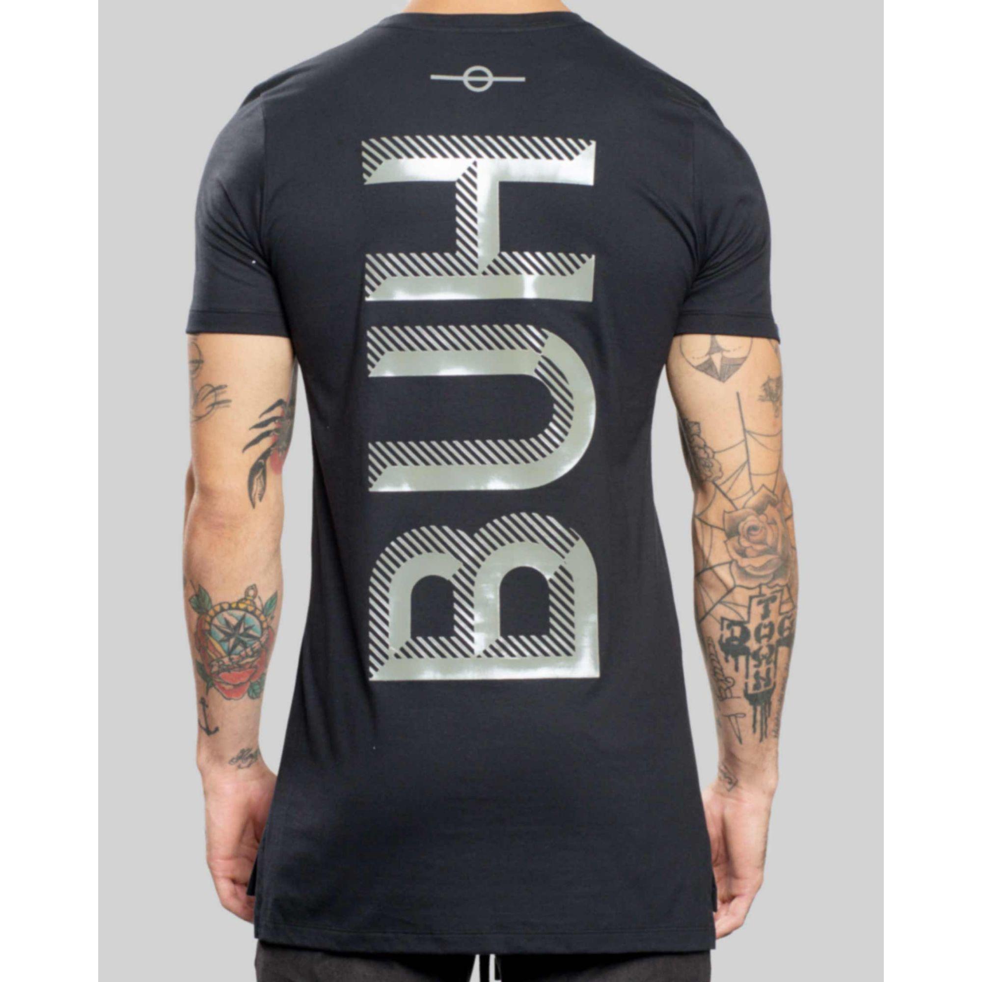 Camiseta Buh Texture Black
