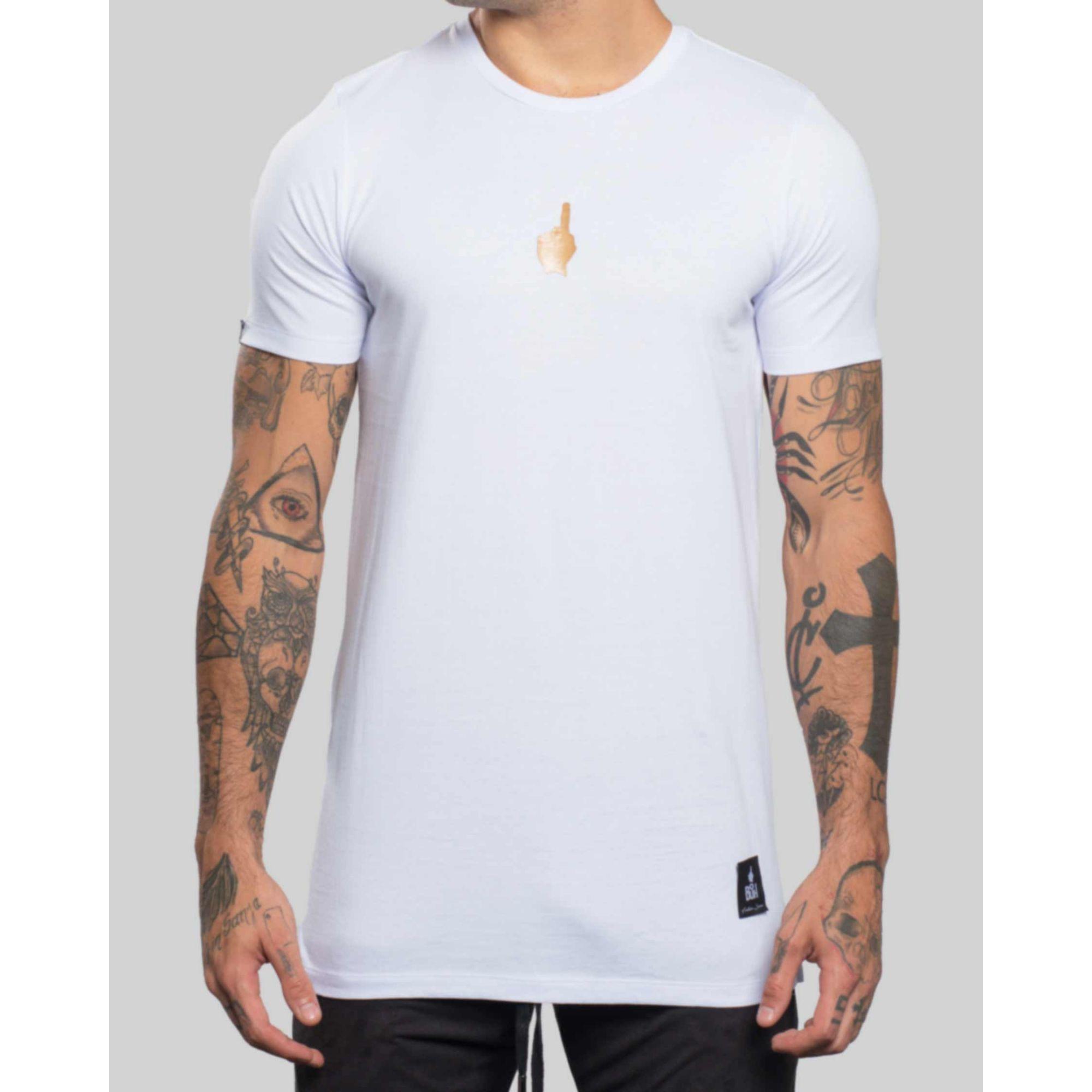 Camiseta Buh Texture White