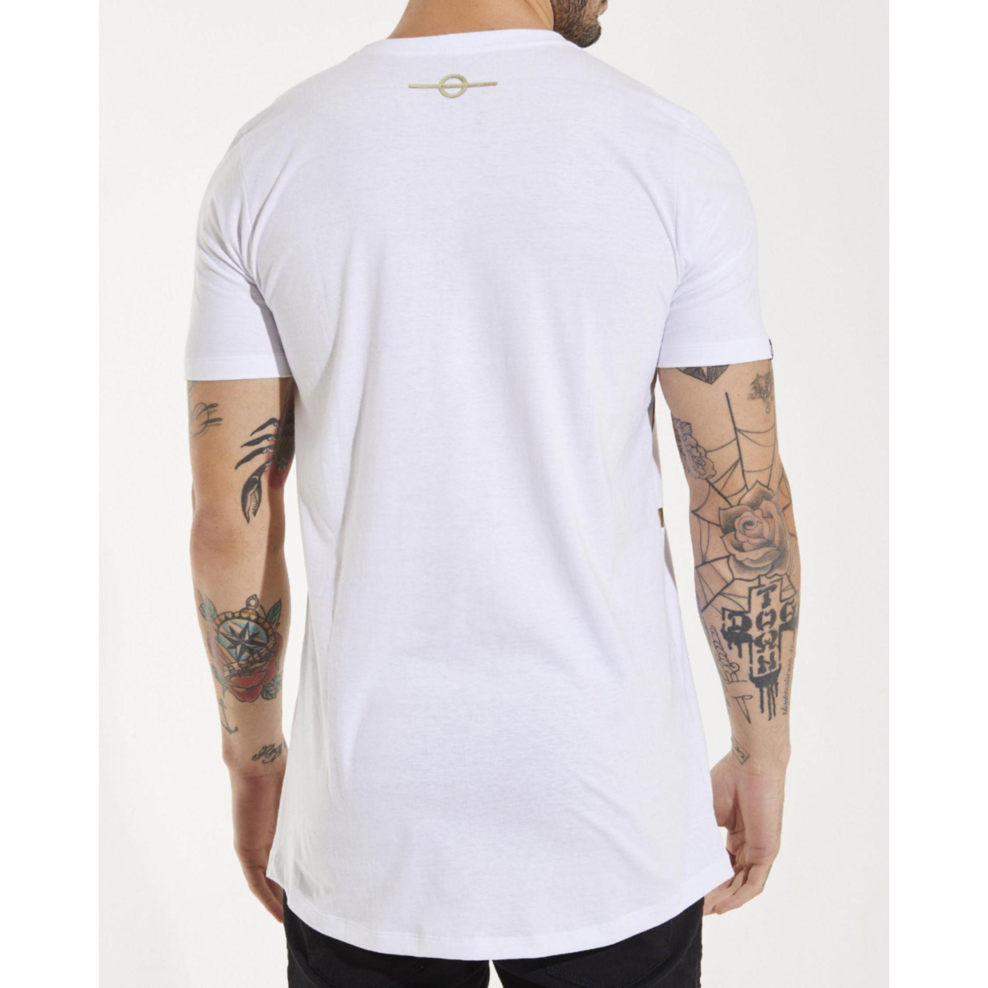 Camiseta Buh Thunder White