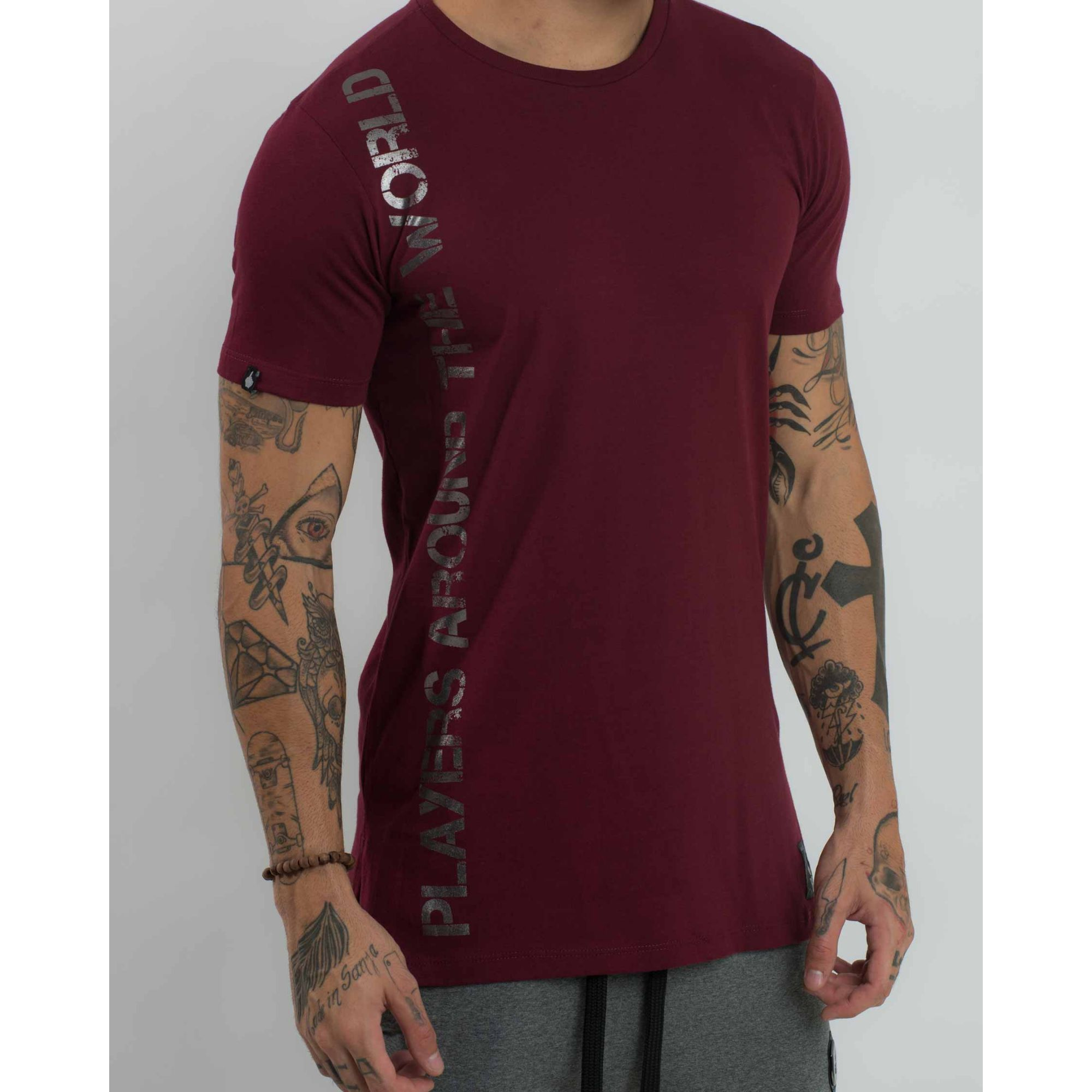 Camiseta Buh Travelers Foil Vinho