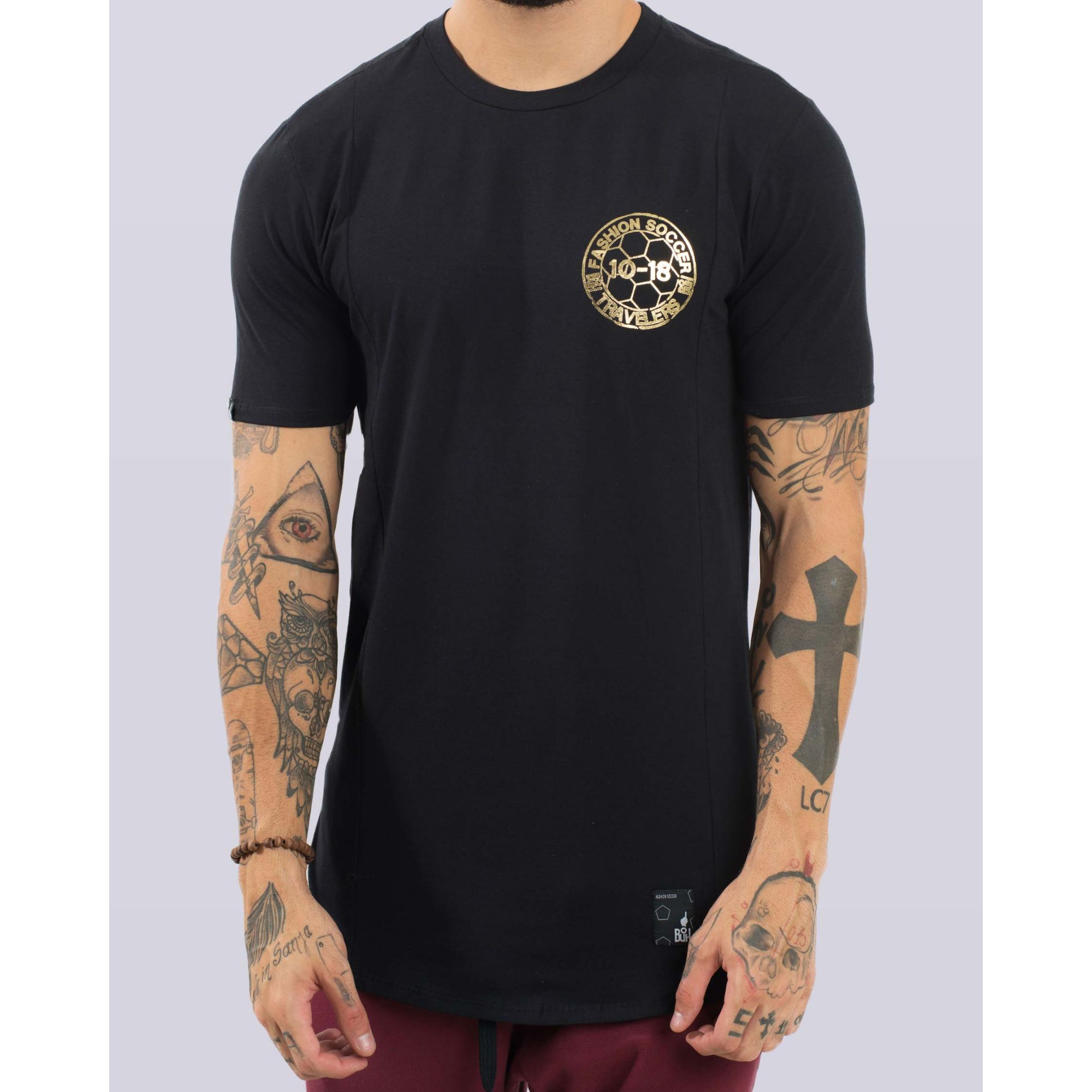 Camiseta Buh Traveling Black