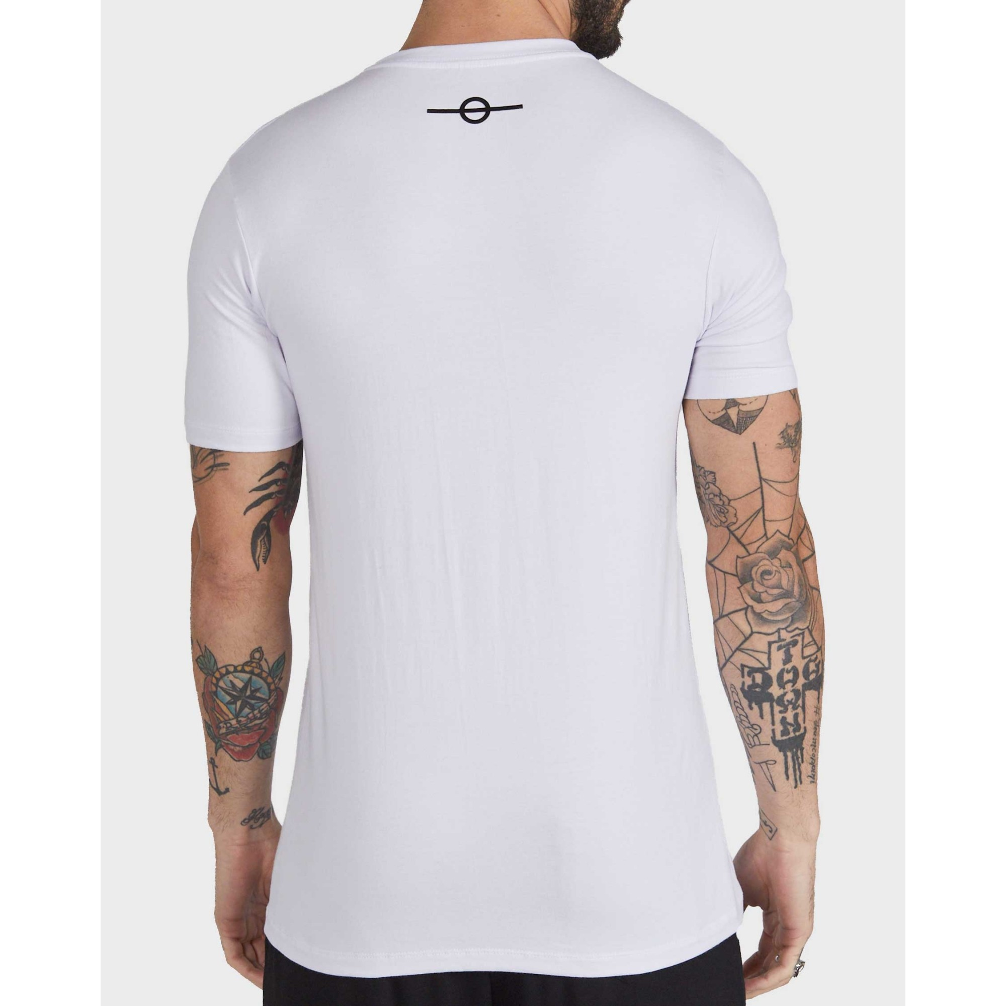 Camiseta Buh Triple Lines White
