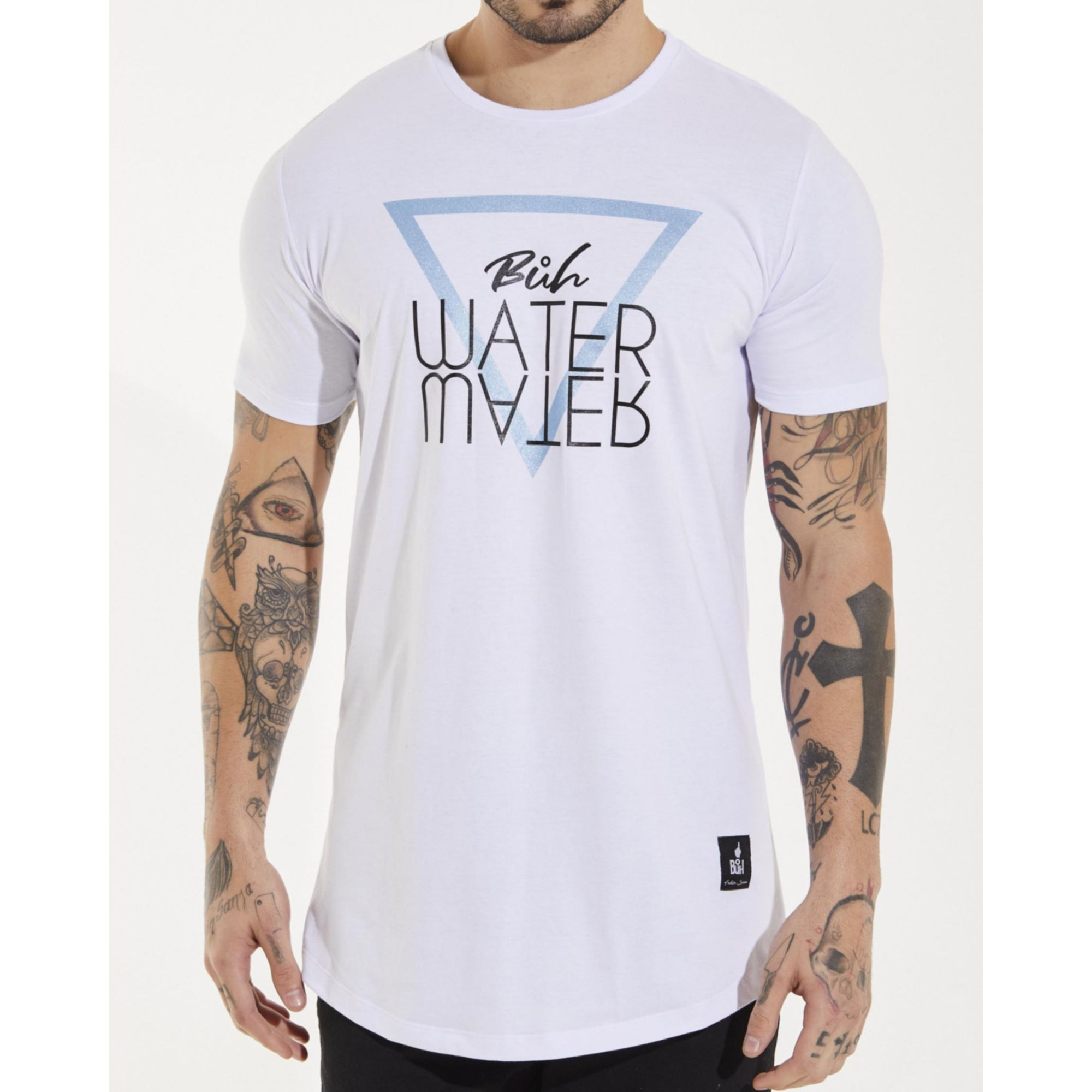 Camiseta Buh Water Basic White