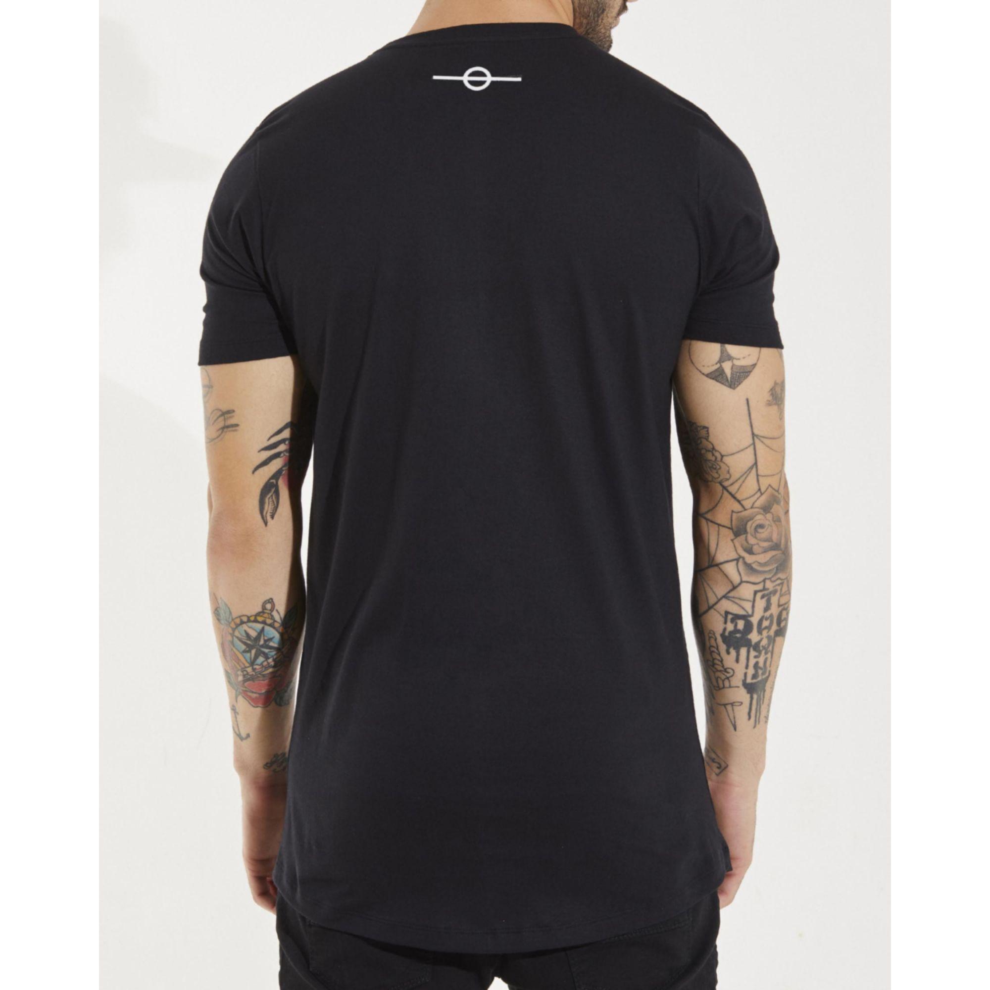 Camiseta Buh Water Black