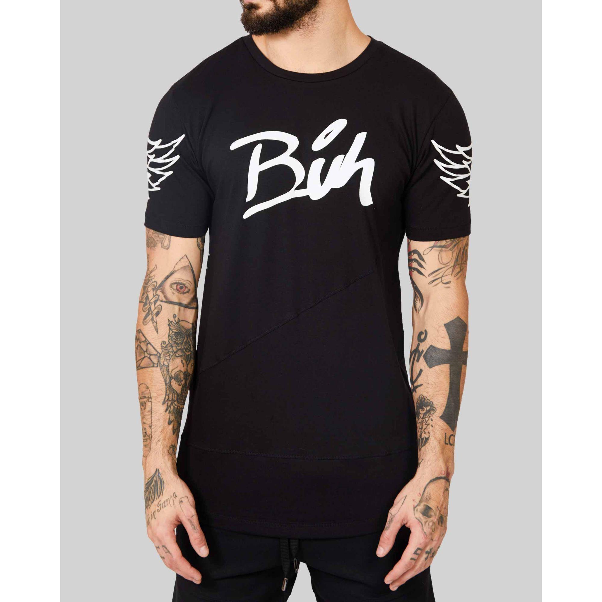 Camiseta Buh Wings Black