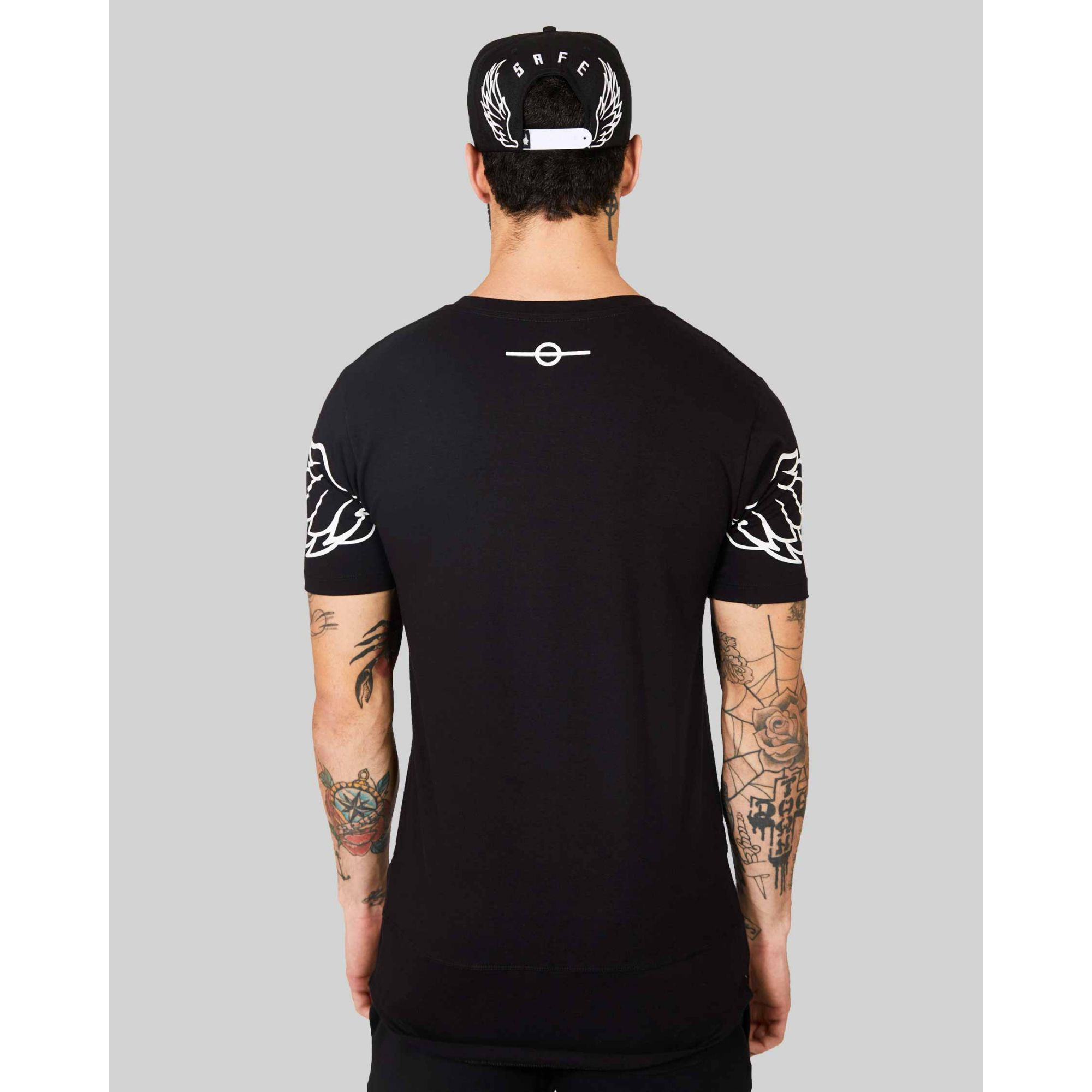 Camiseta Buh Wings Black
