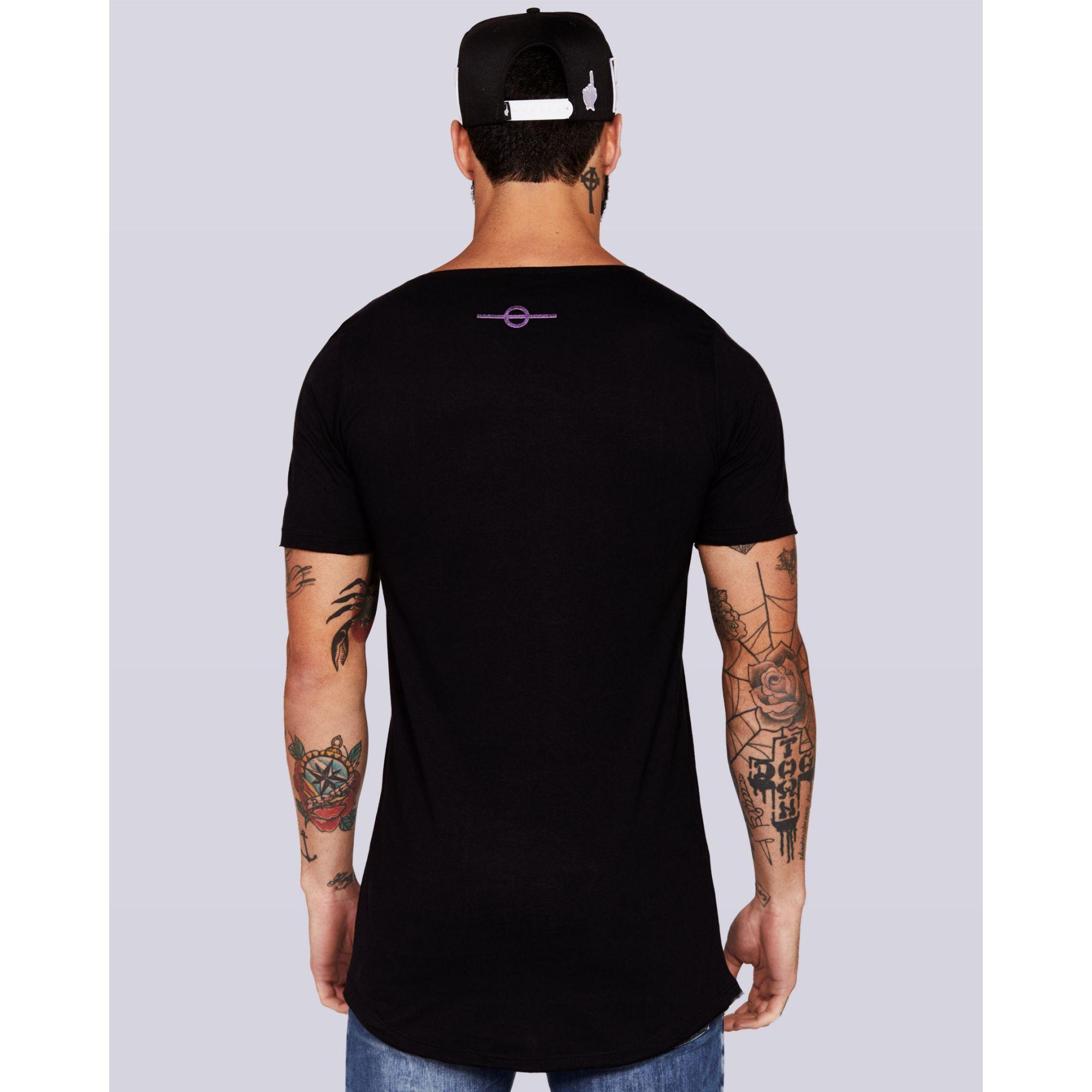 Camiseta Buh X Black