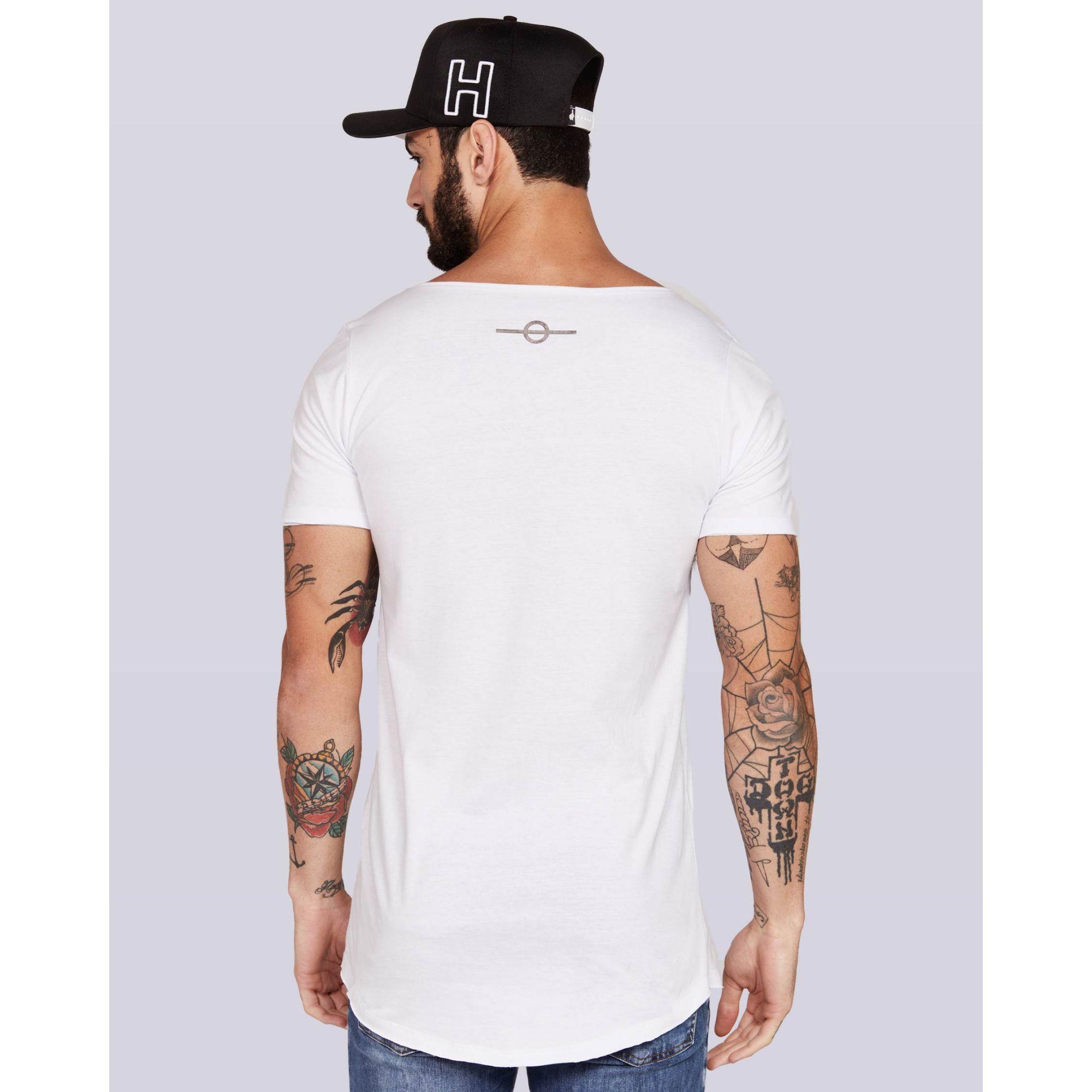 Camiseta Buh X White