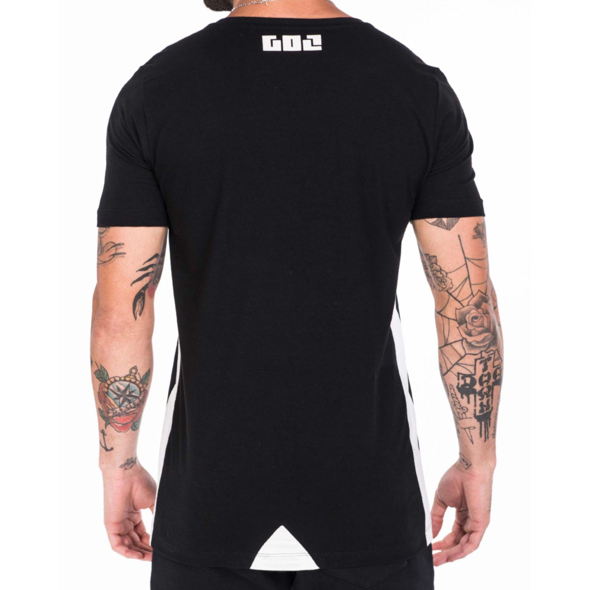 Camiseta Gol By Buh Muitos Falam Black