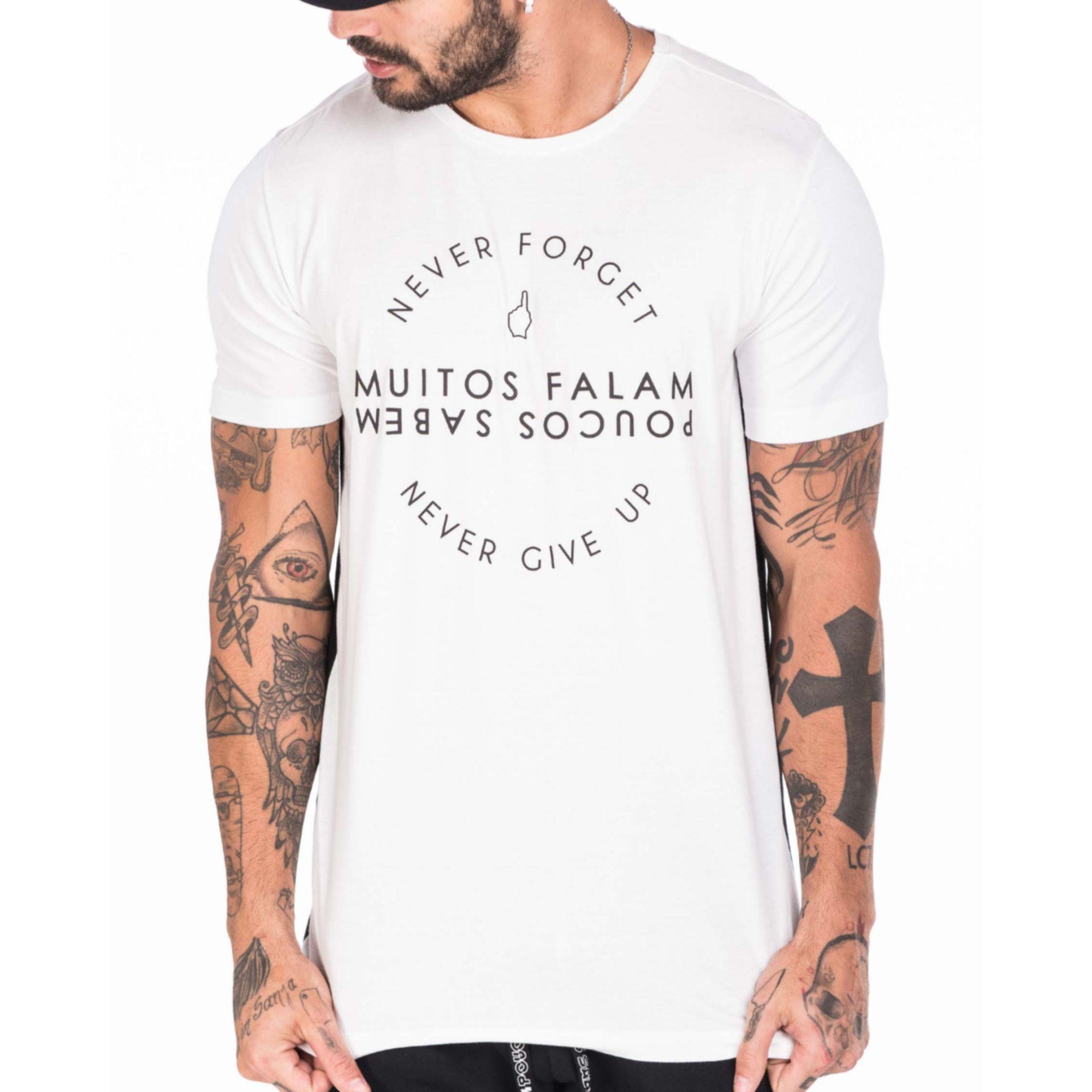 Camiseta Gol By Buh Muitos Falam White