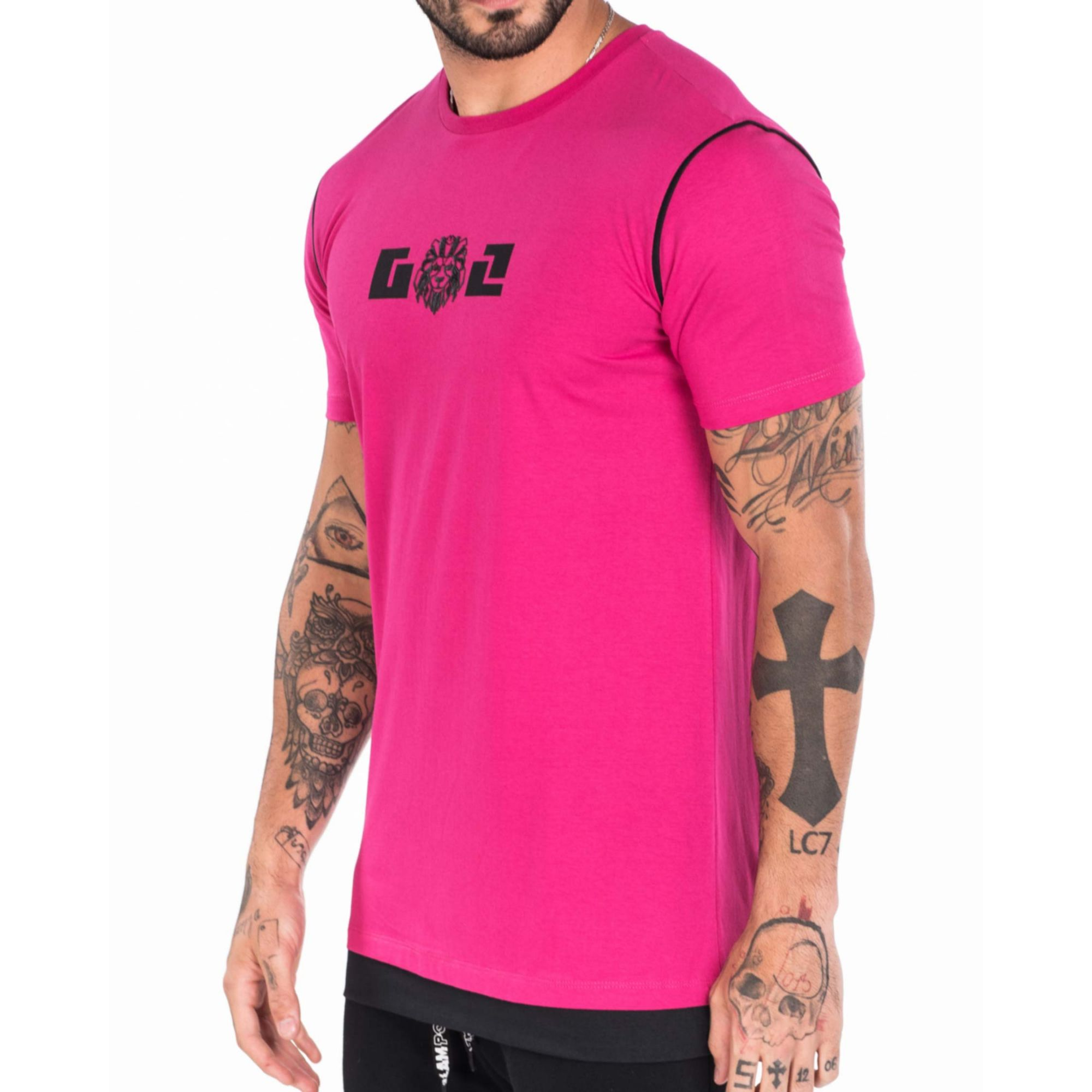 Camiseta Gol By Buh Pink