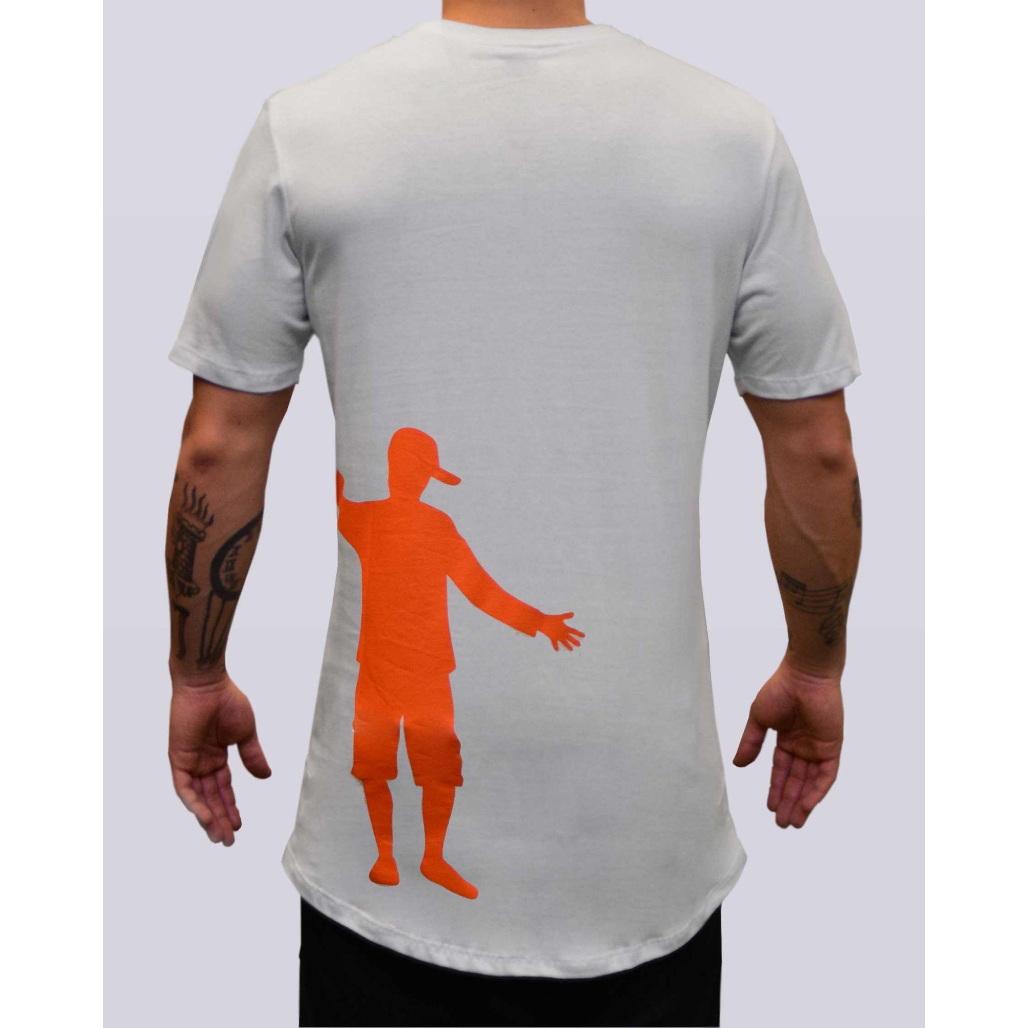 Camiseta Jeito Moleque A Amizade White