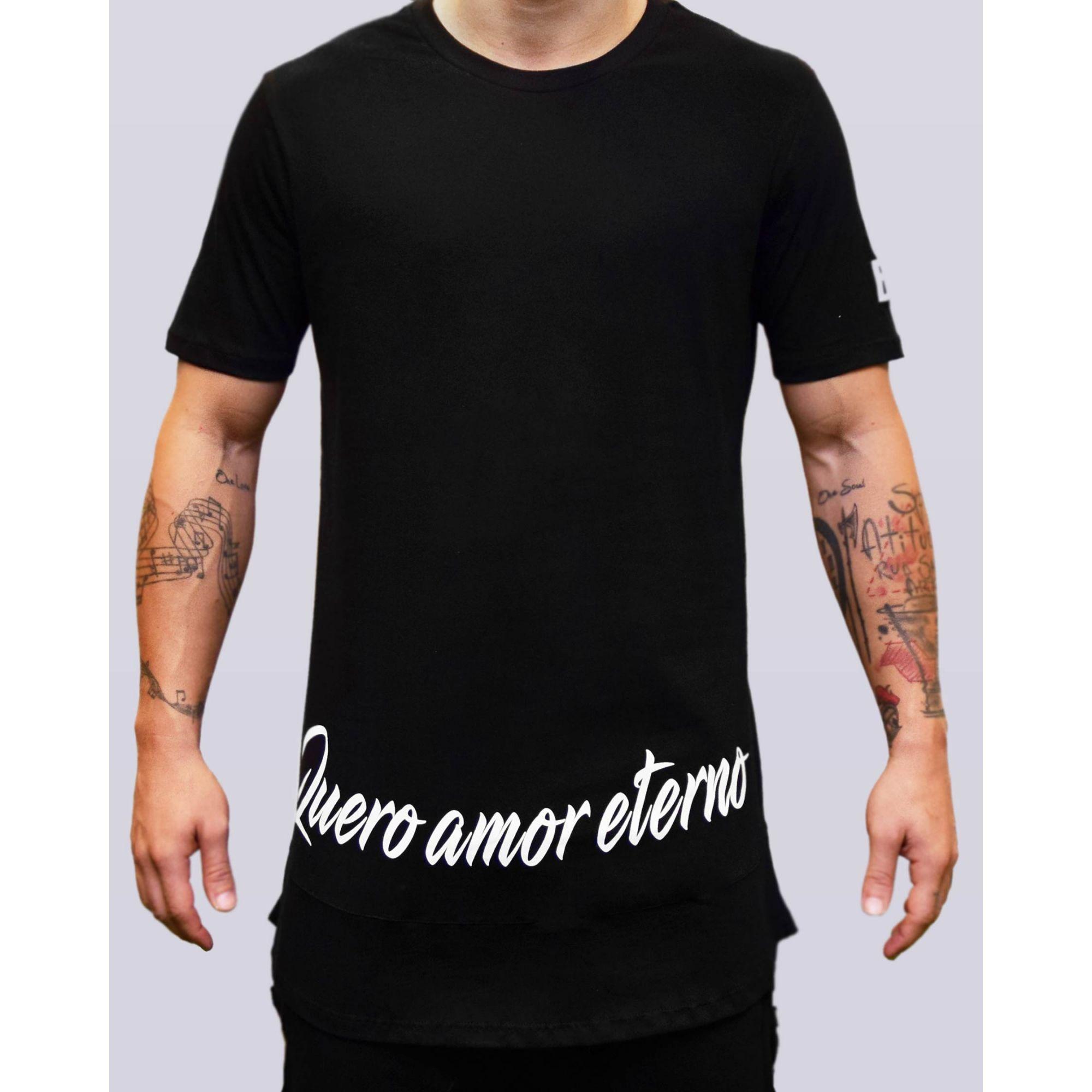 Camiseta Jeito Moleque Amor Eterno